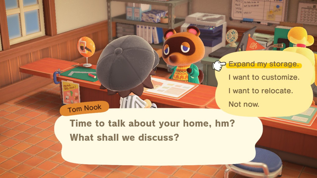 how to increase house storage - animal crossing: new horizons