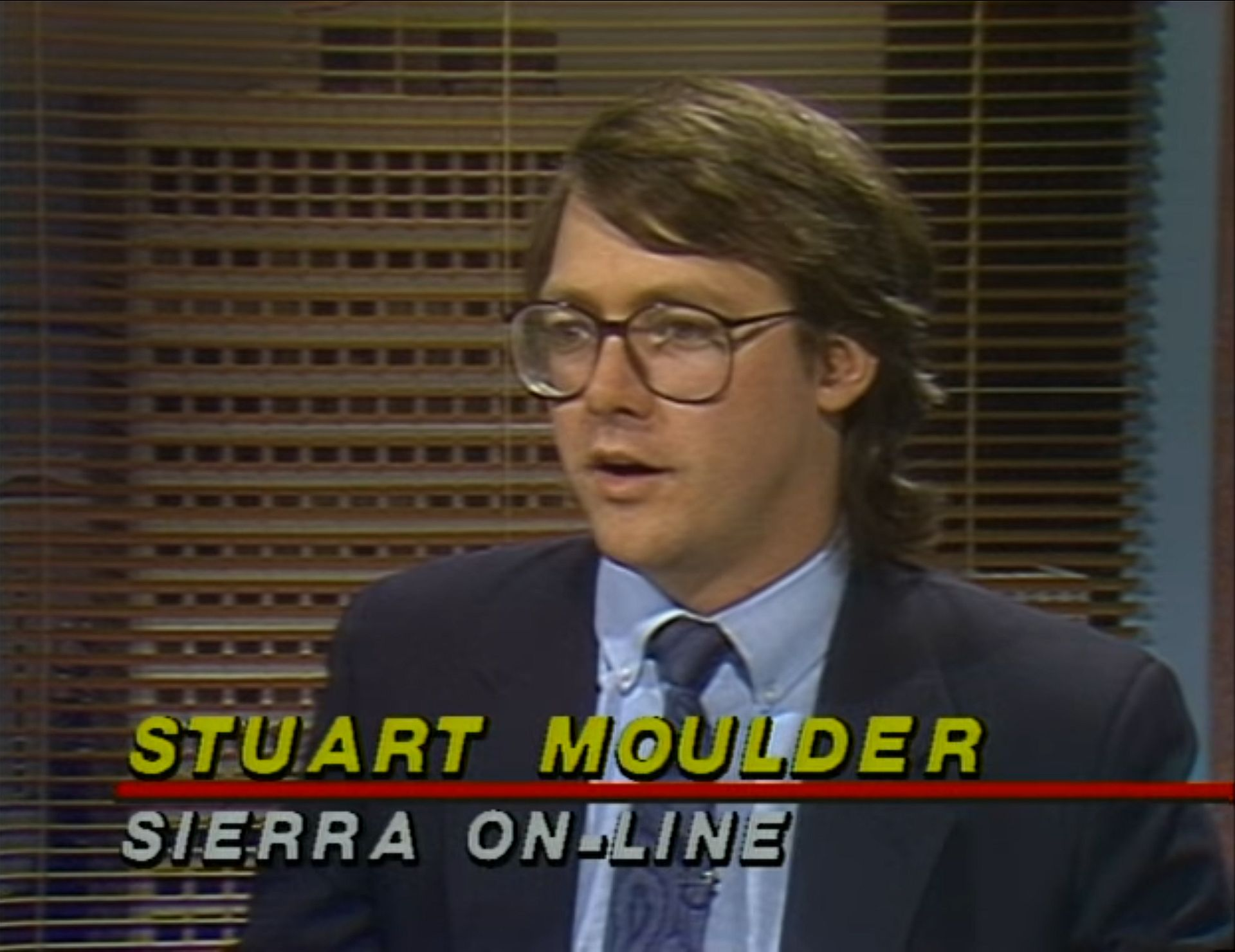 Stuart Moulder and Bruce Shelley met on the set of the same gaming-focused computer program.