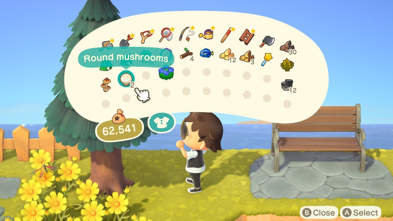how to get mushrooms - animal crossing: new horizons