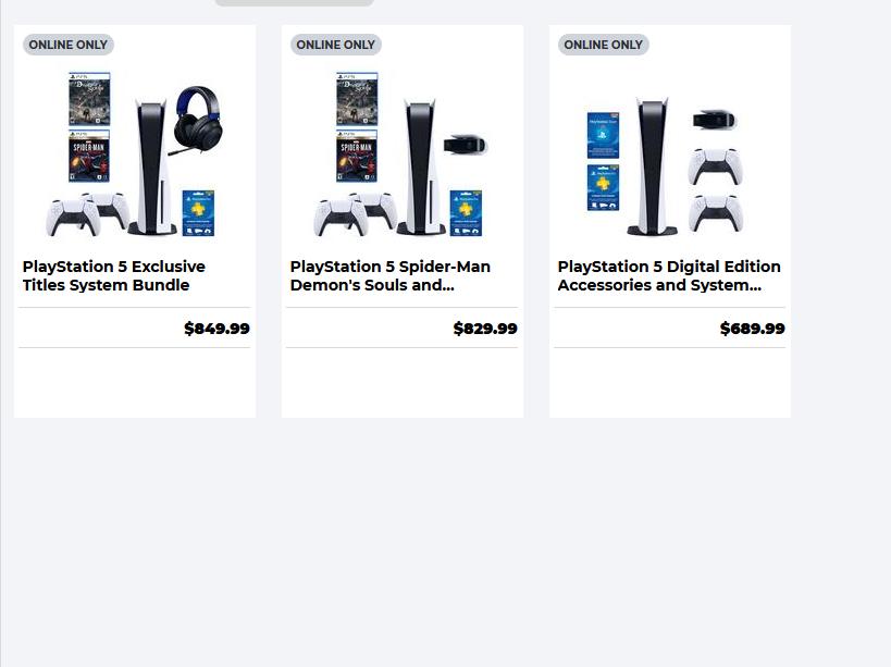 PS5 bundles available at GameStop today | Shacknews