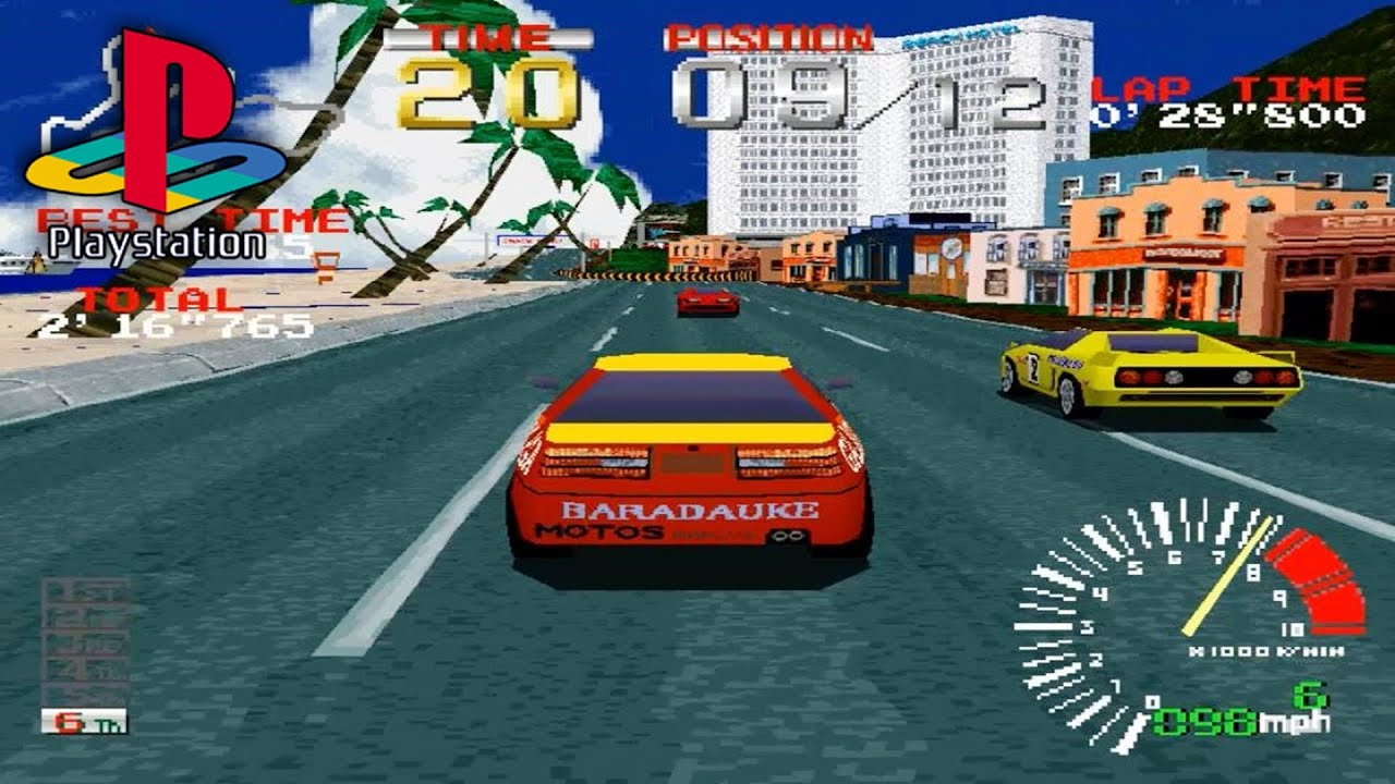 Ridge Racer, the PS1's must-have title at launch.