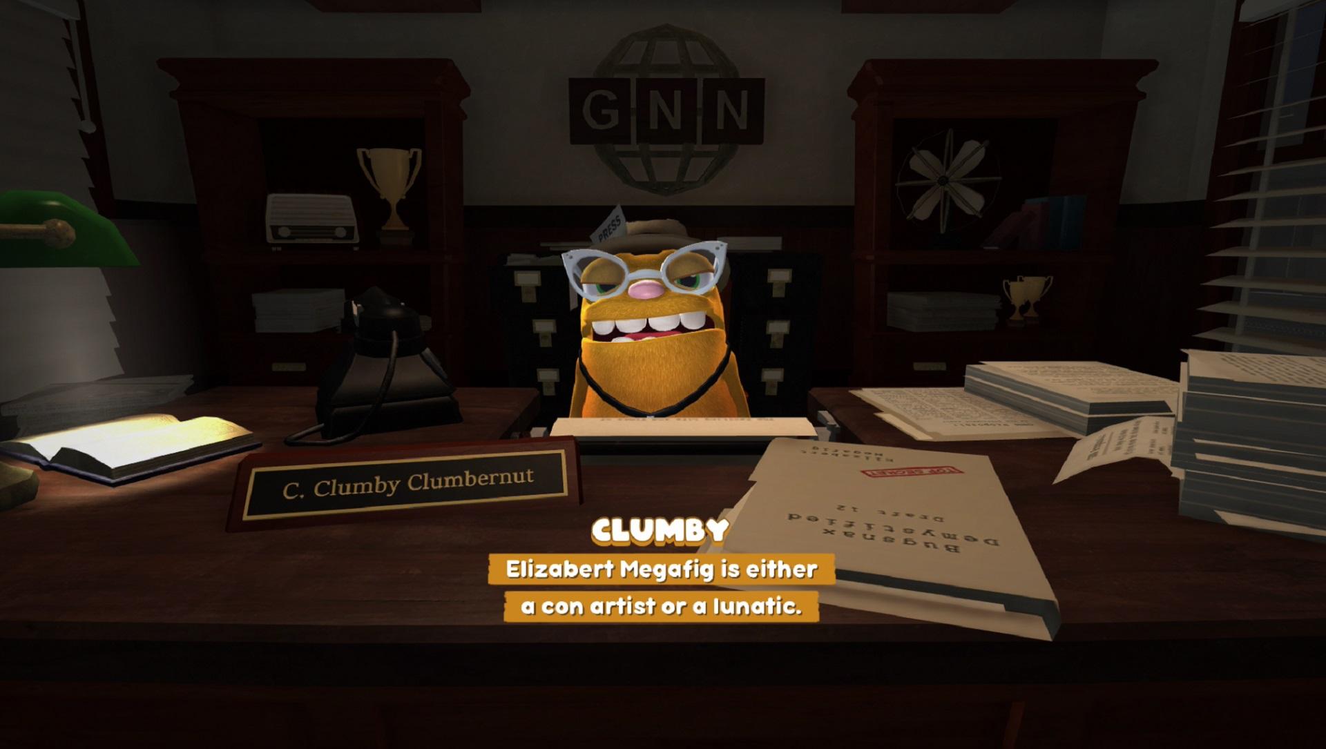 Your boss C. Clumby Clumbernut.