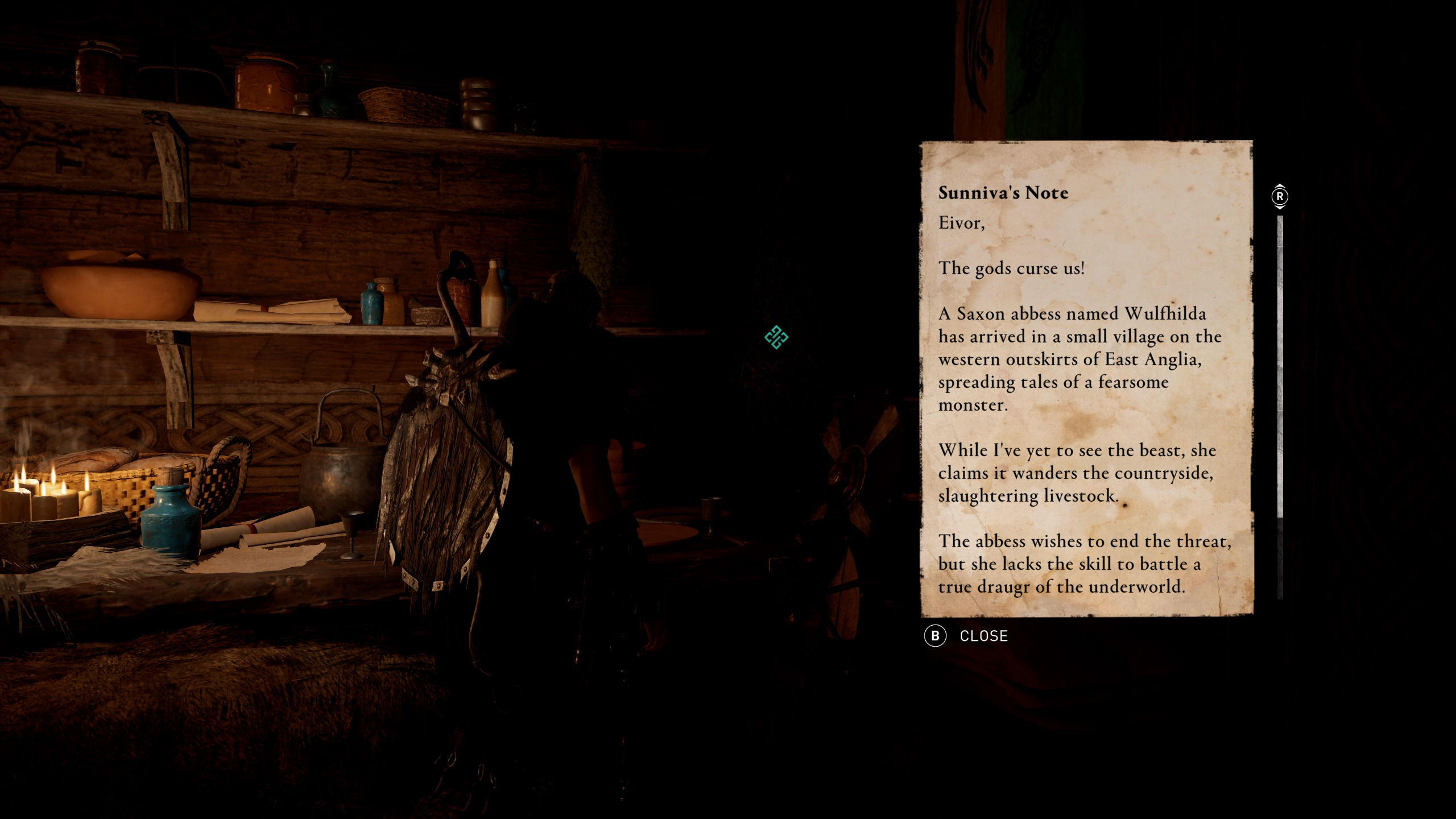 how to start the legend of beowulf - assassin's creed valhalla