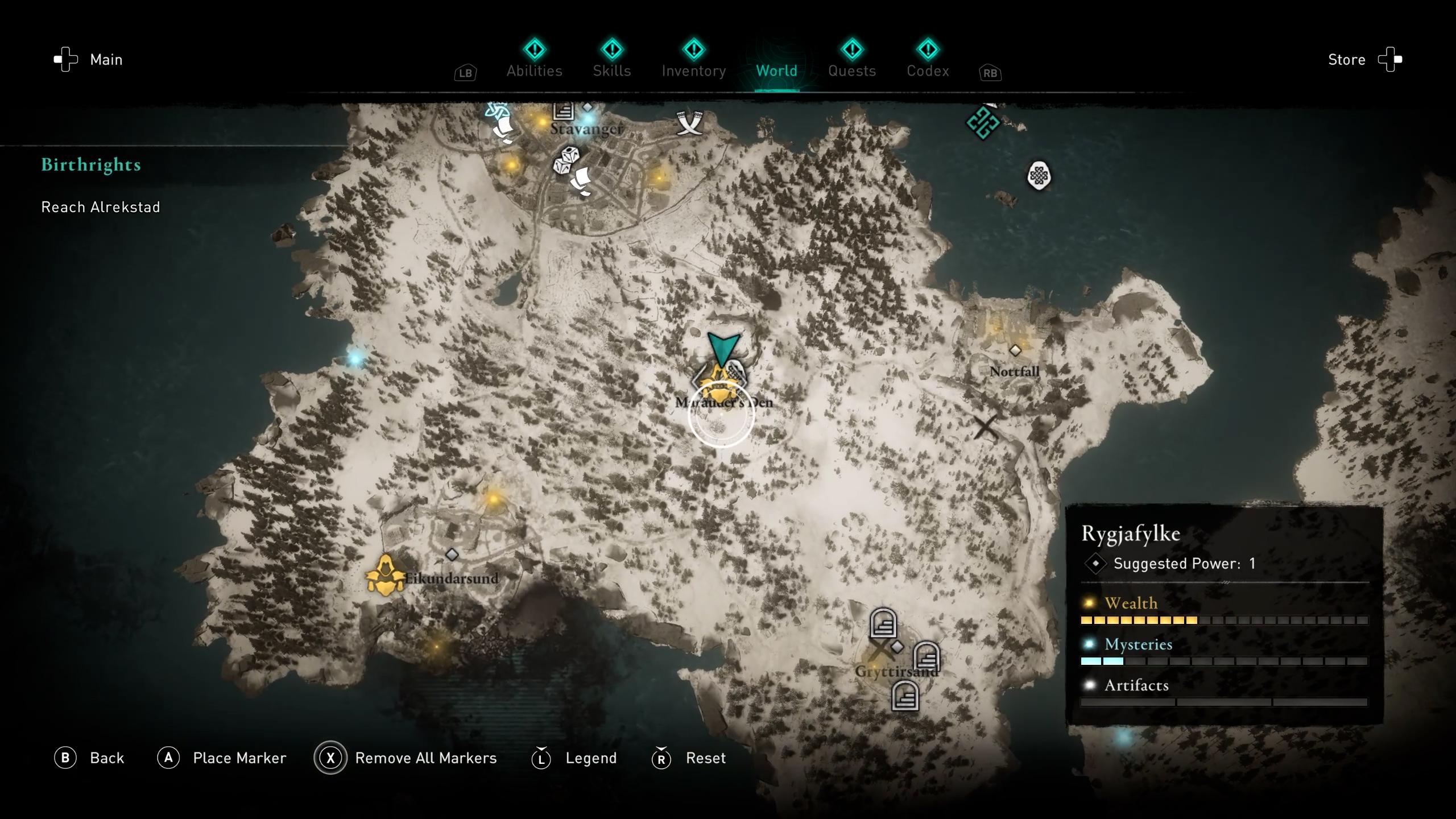 All gear locations - assassin's creed valhalla - war hammer