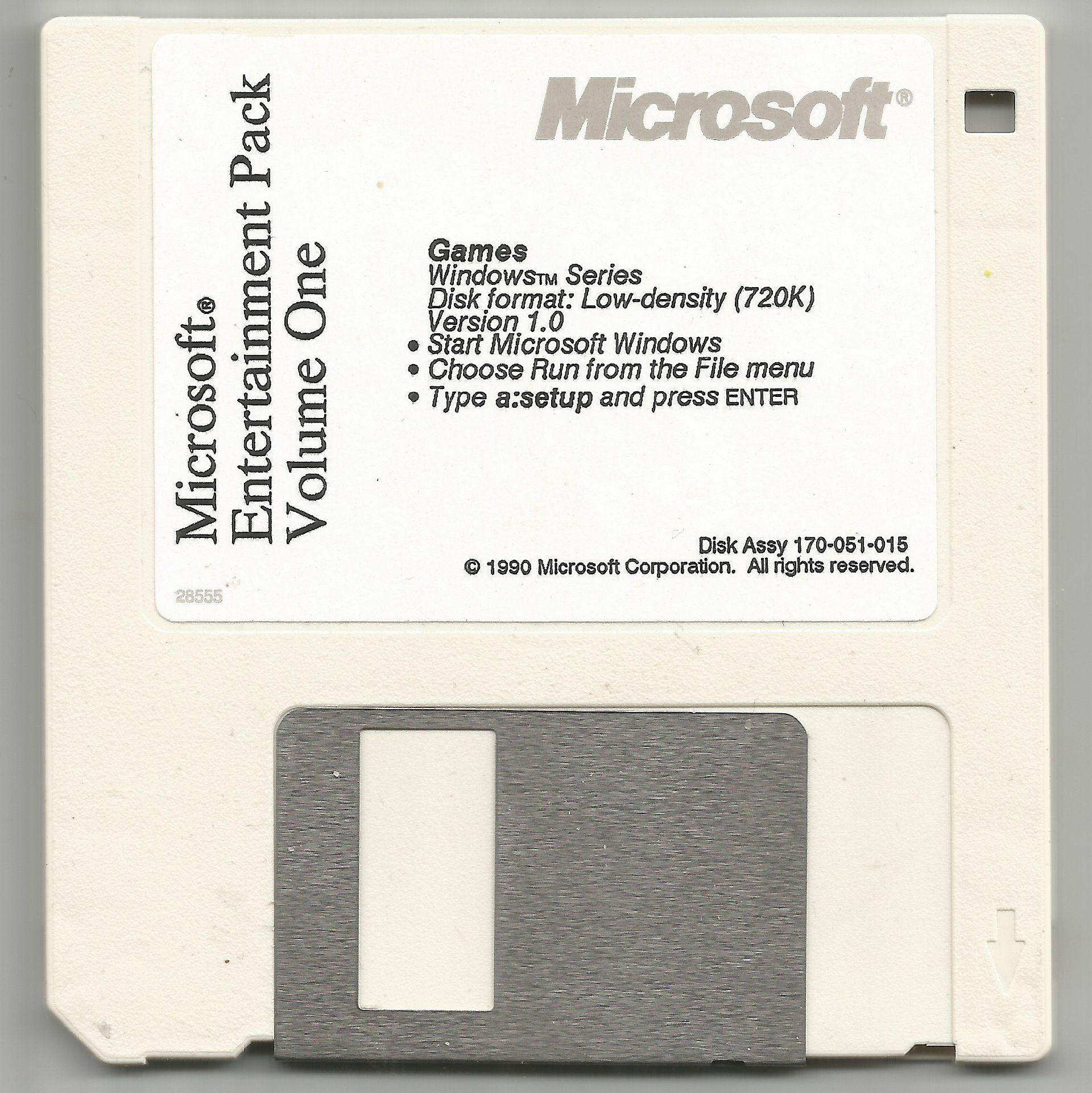 Microsoft Windows Entertainment Pack.
