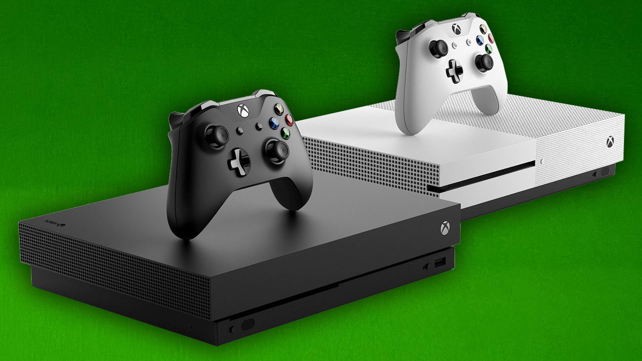 Xbox One S and Xbox One X.