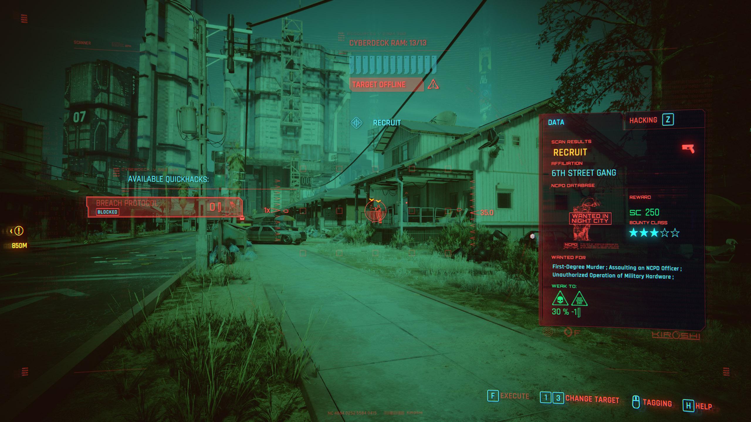 bounty hunting - cyberpunk 2077