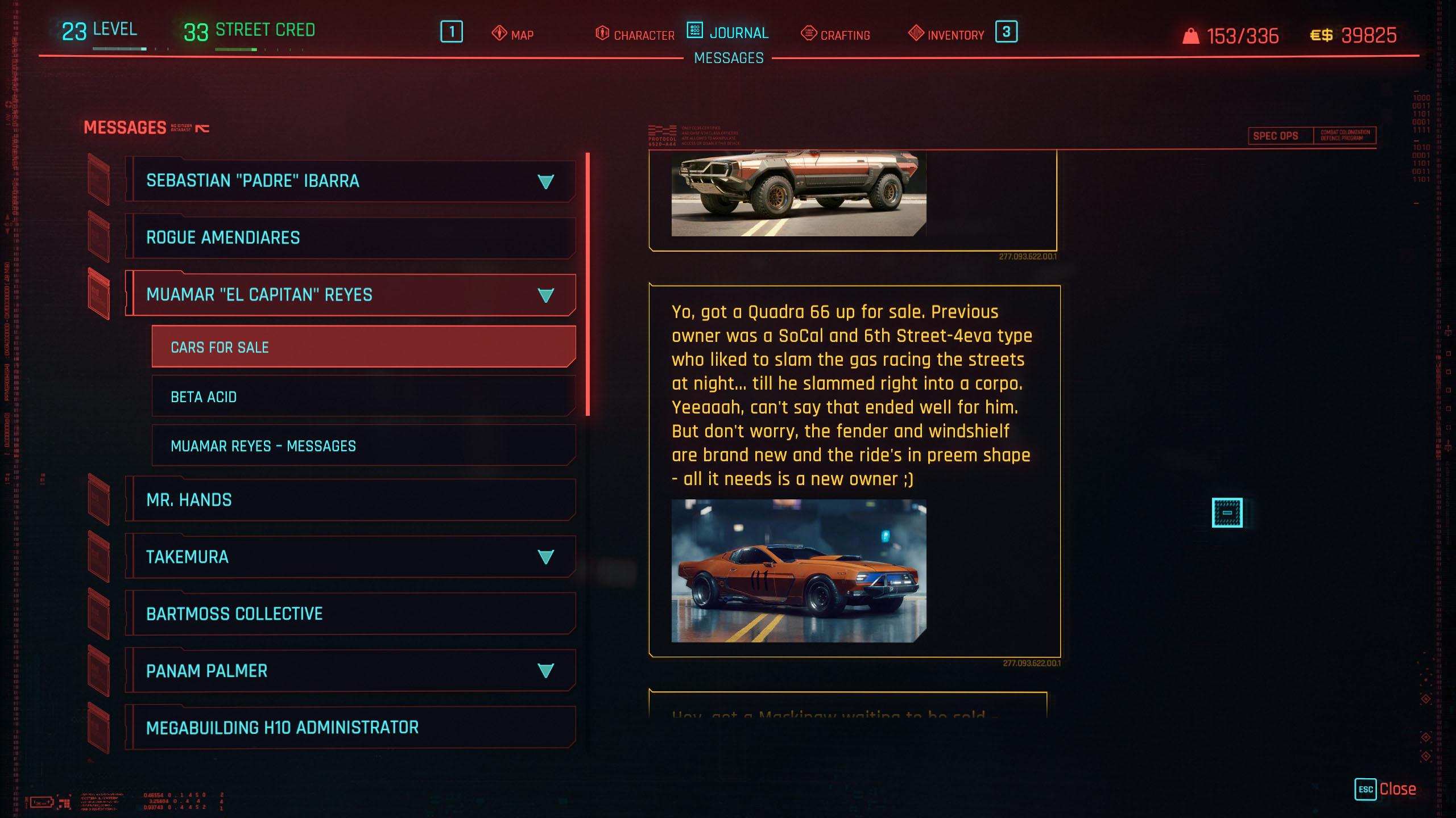 can you customize vehicles in cyberpunk 2077?