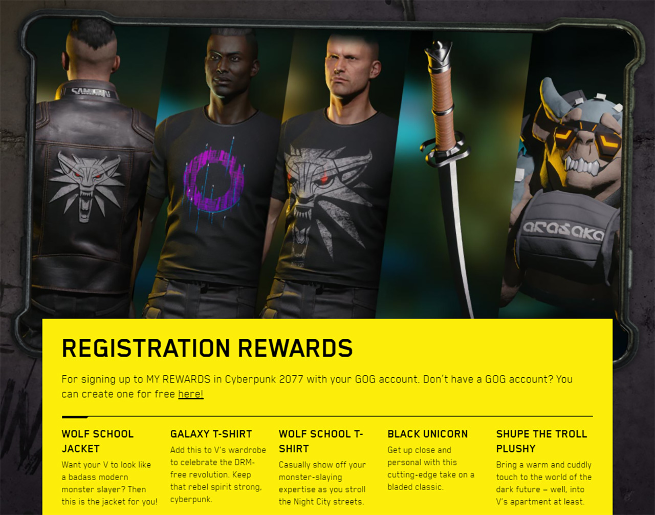 How to redeem cyberpunk 2077 preorder rewards