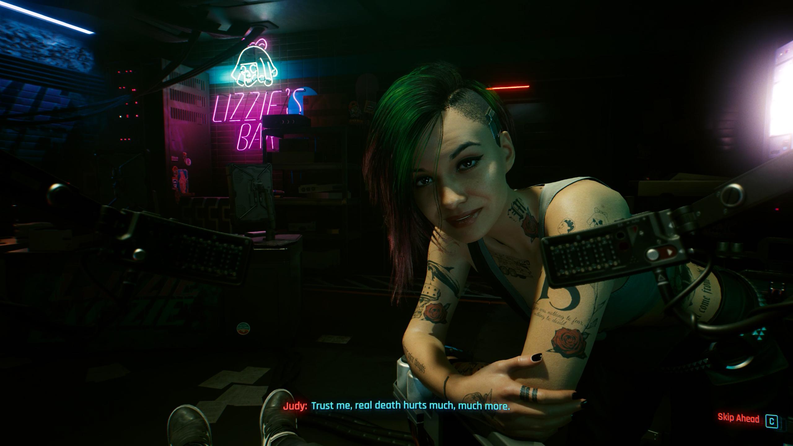 romance guide - cyberpunk 2077 - Judy Alvarez