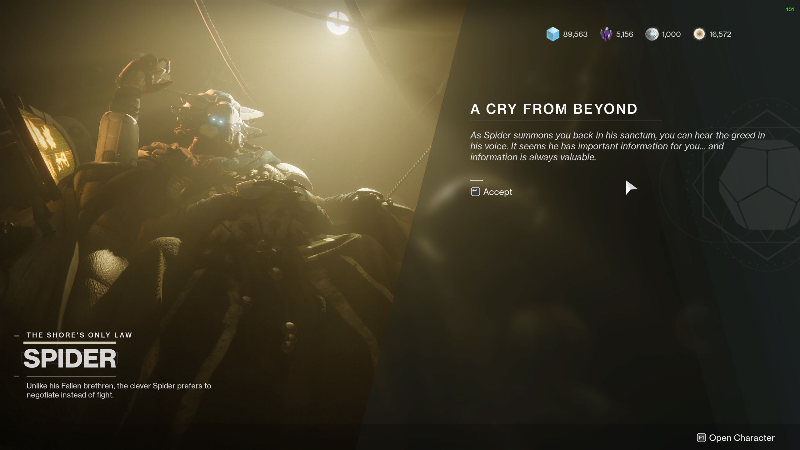 destiny 2 a cry from beyond hawkmoon