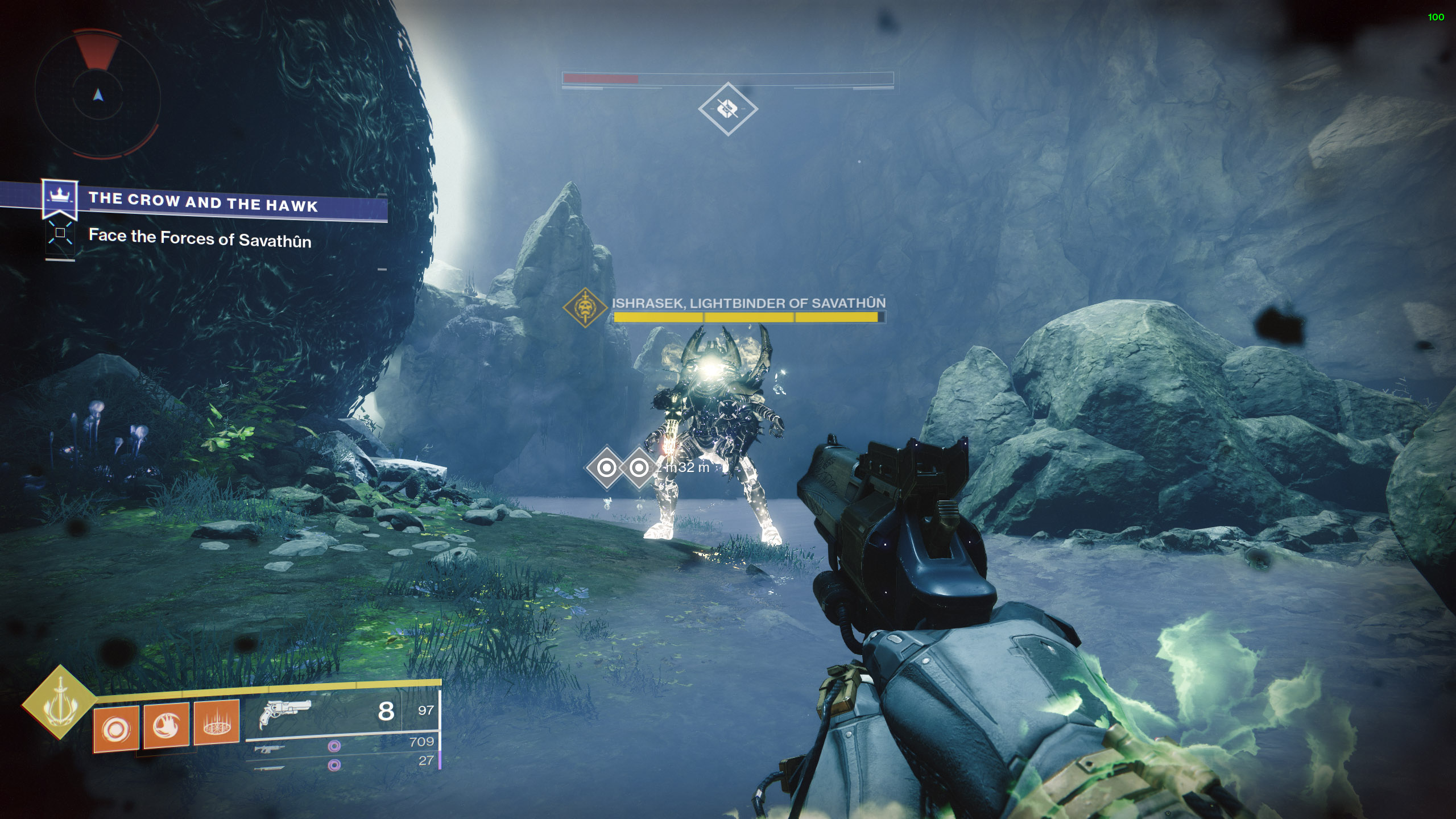 destiny 2 defeat Ishrasek Lightbinder of Savathun
