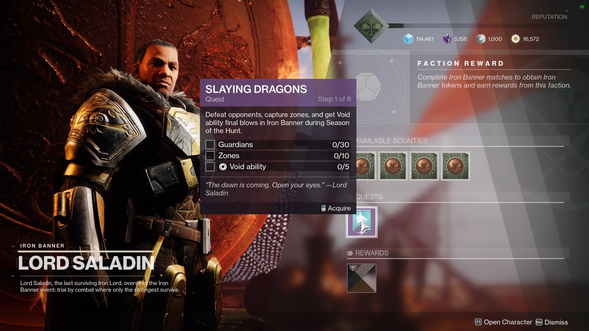 destiny 2 slaying dragons step 1