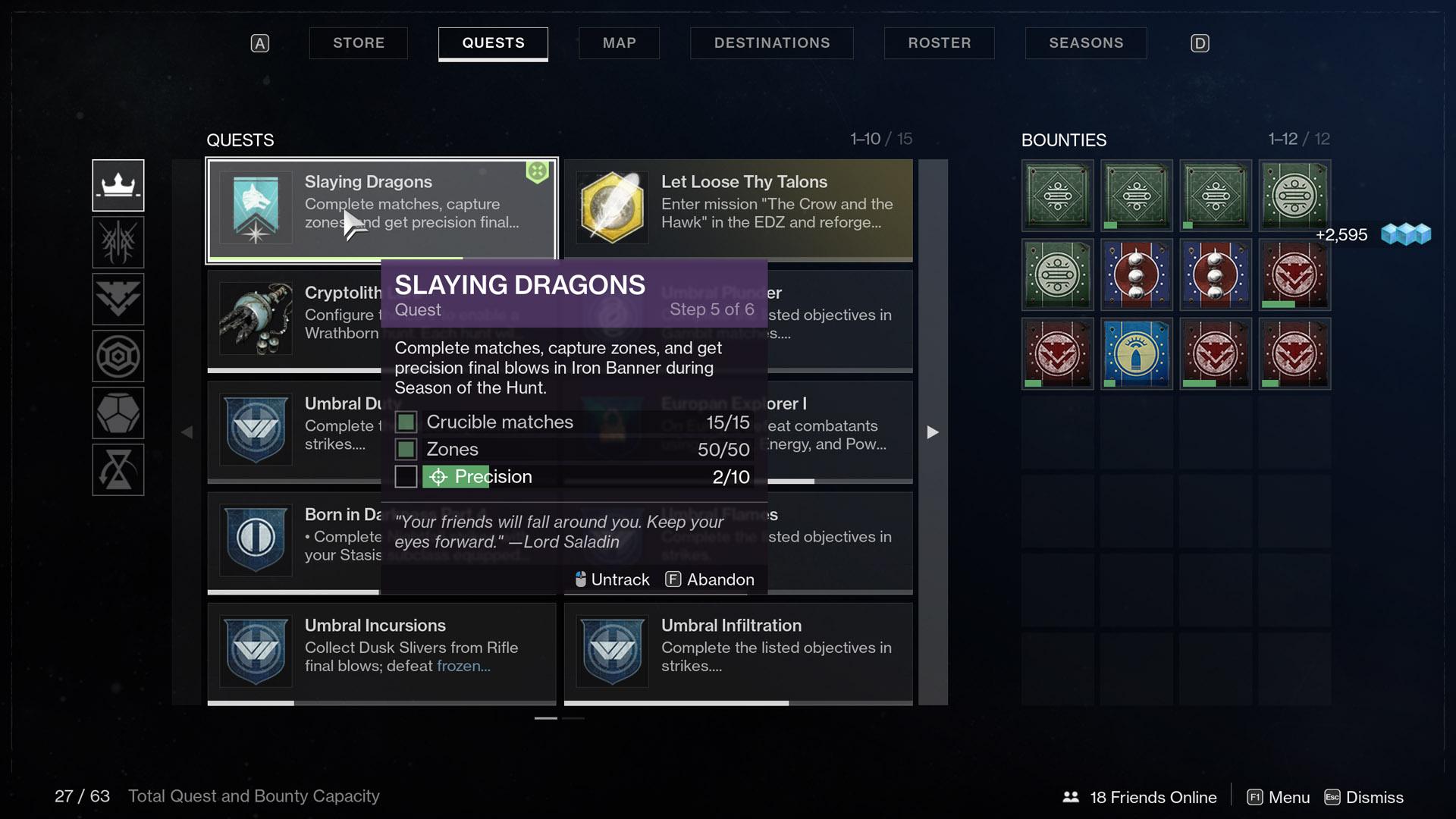 destiny 2 slaying dragons step 5