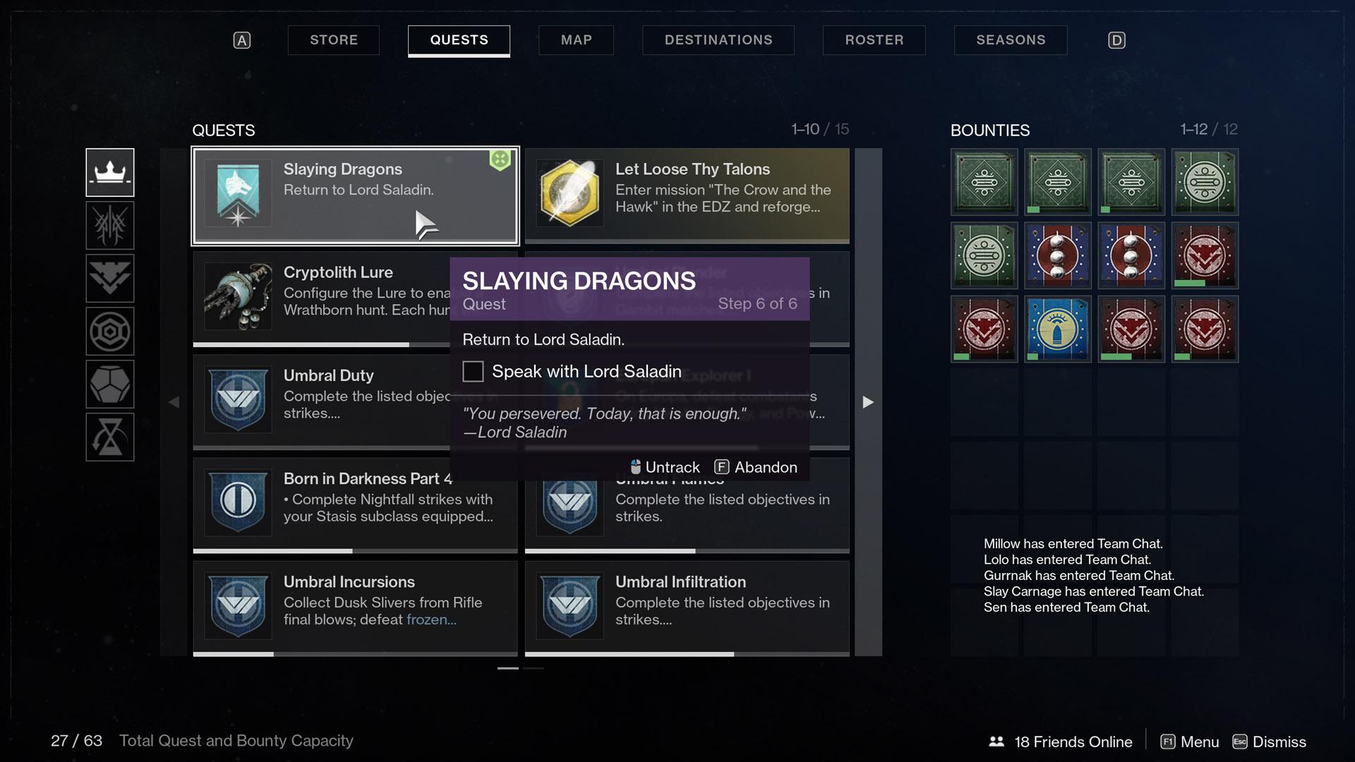 destiny 2 slaying dragons step 6