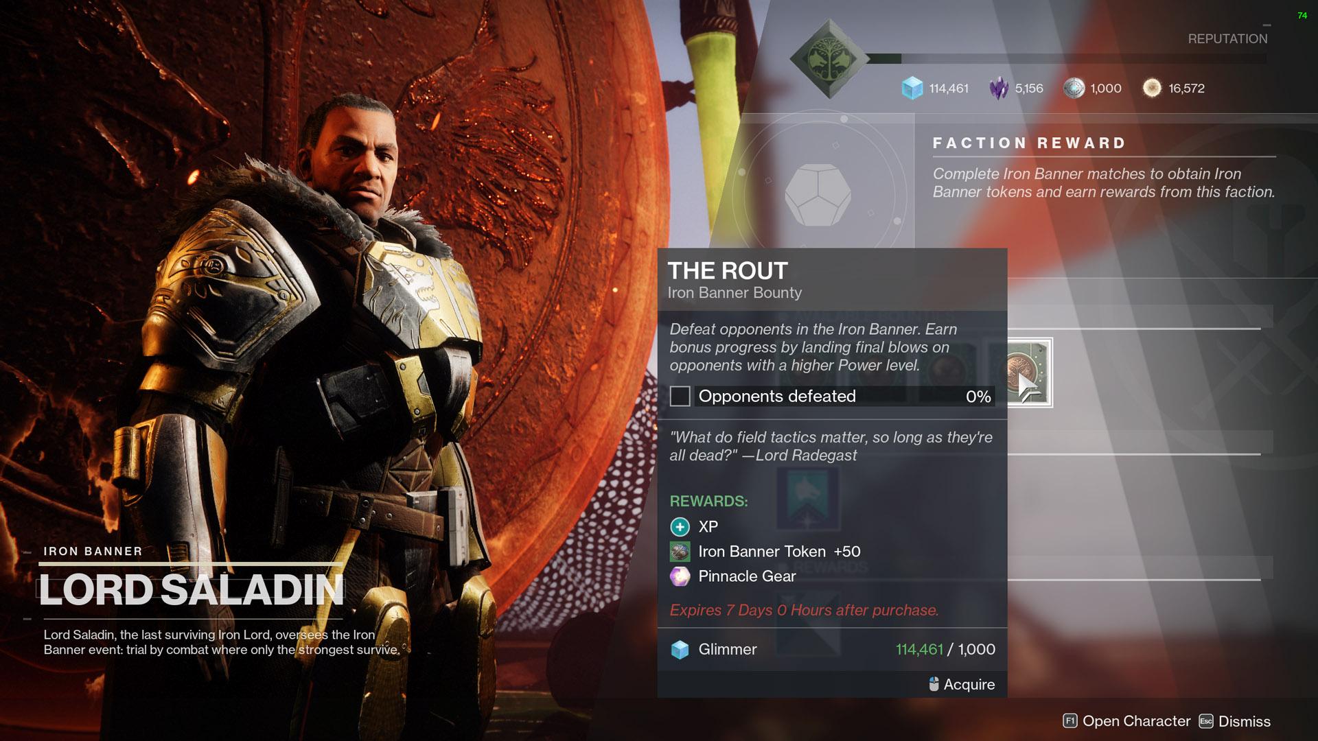 destiny 2 the rout