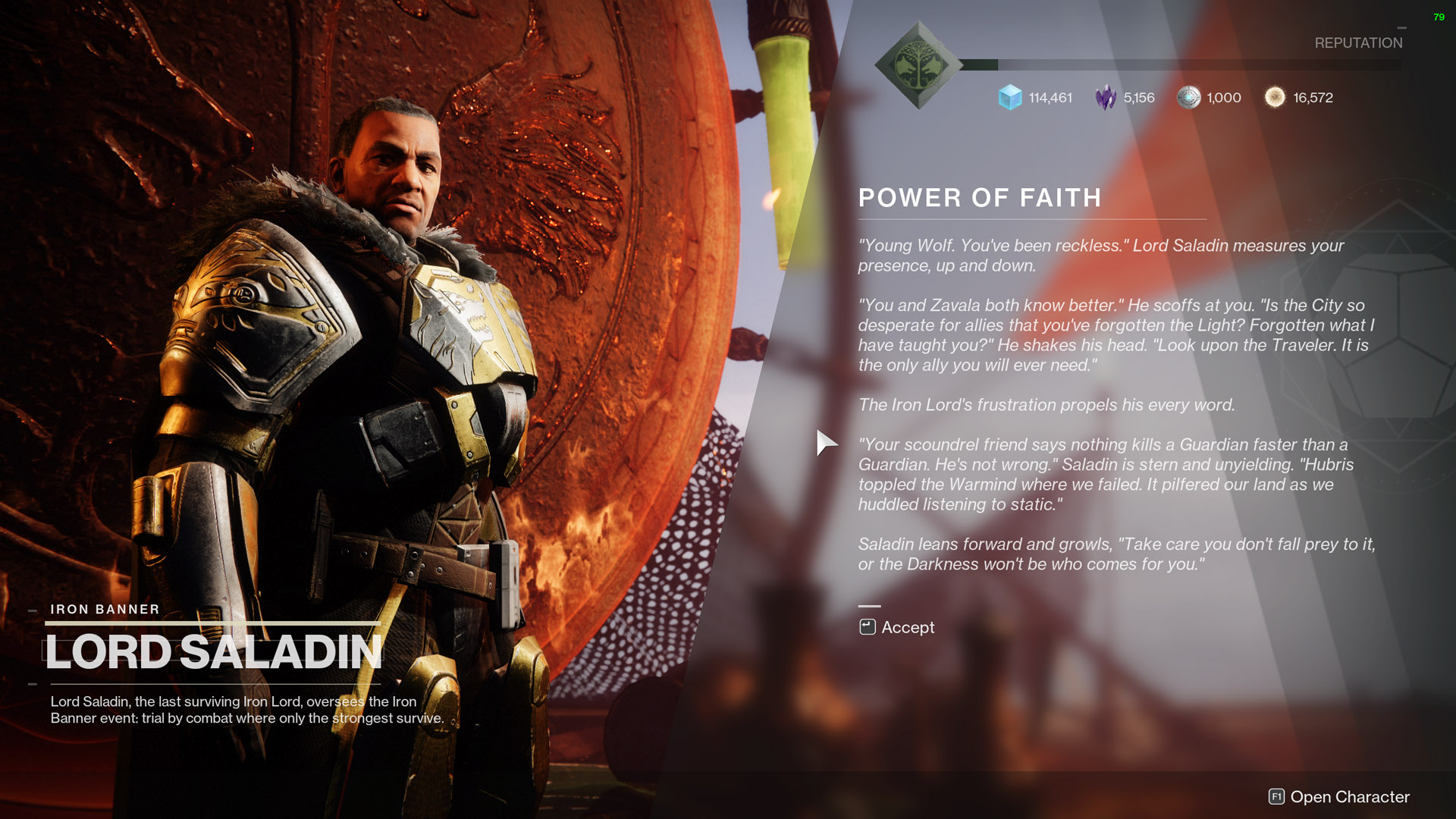 destiny 2 iron banner quest slaying dragons power of faith