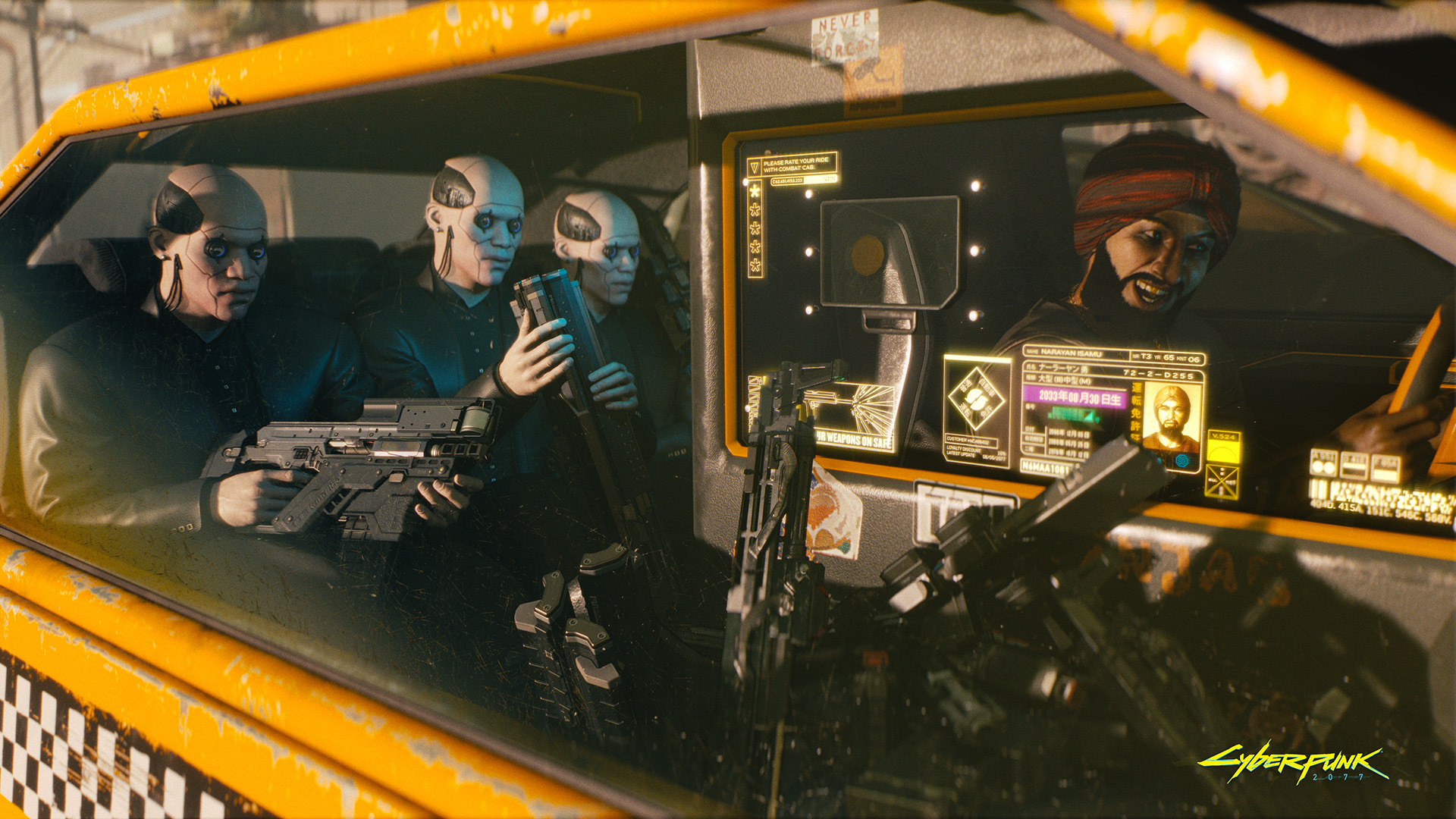 how many acts are there in cyberpunk 2077?