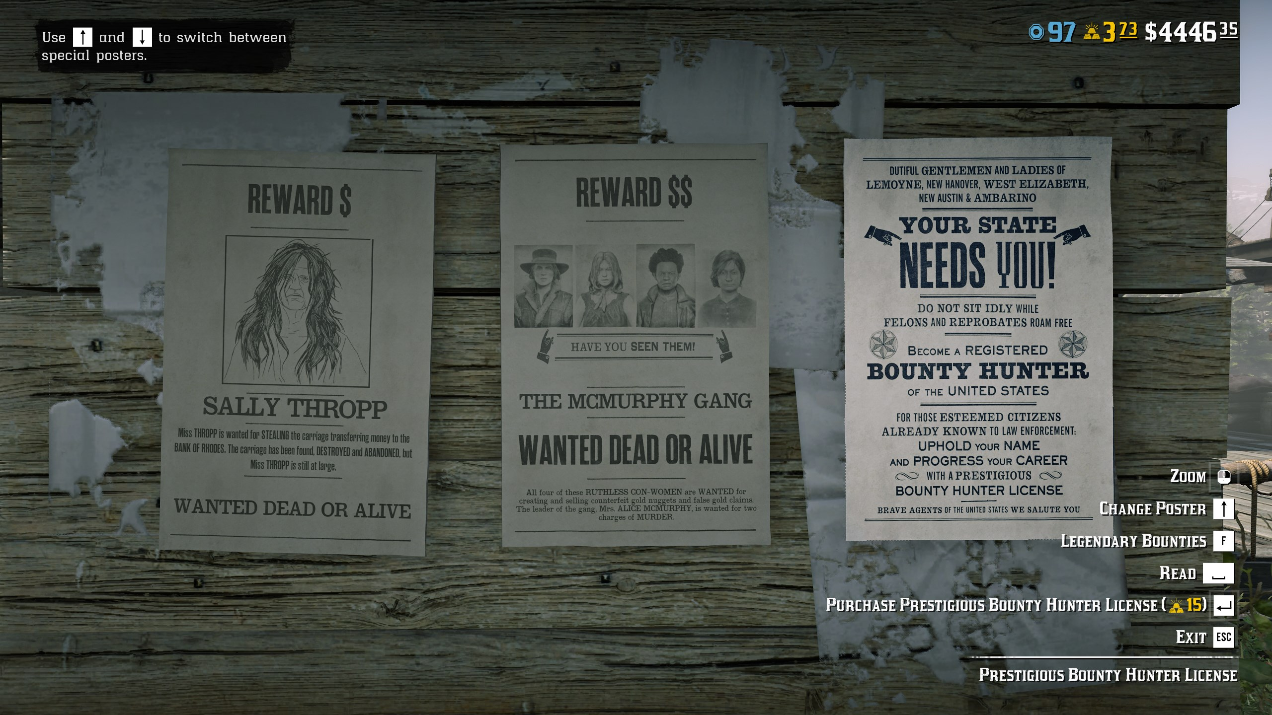 What is the Prestigious Bounty Hunter License in Red Dead Online?