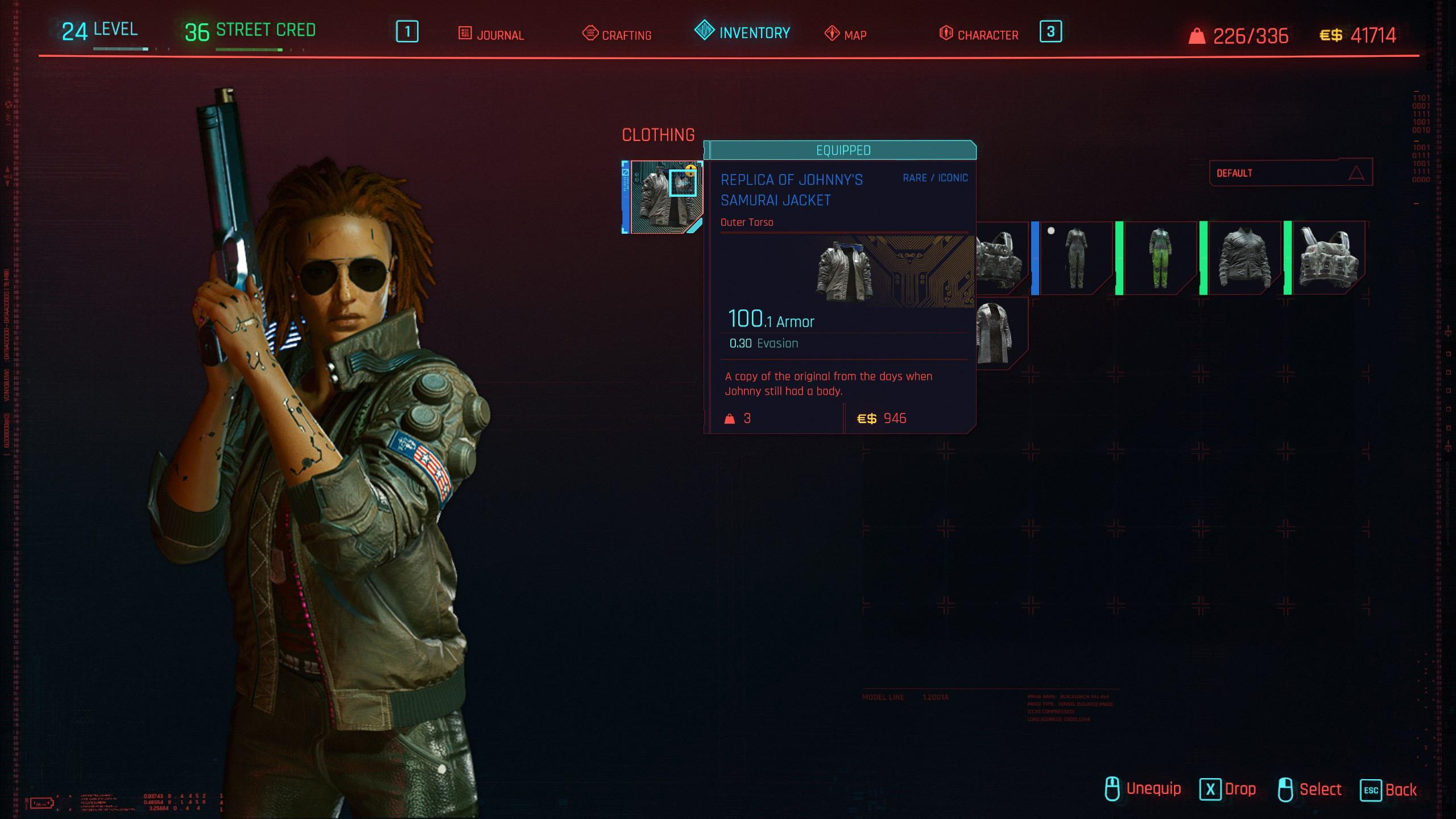 how to get a samurai jacket - cyberpunk 2077