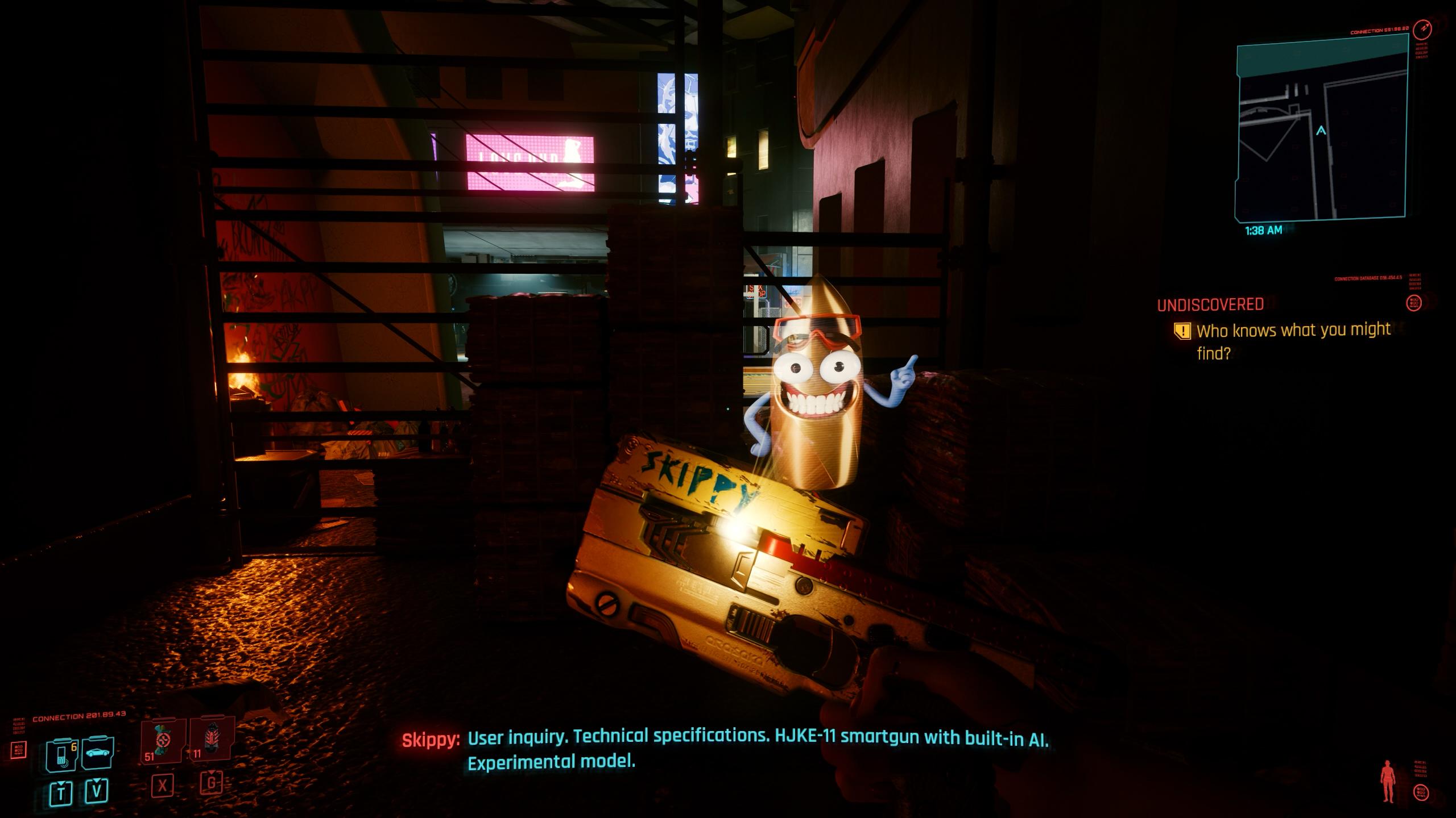 Skippy in Cyberpunk 2077