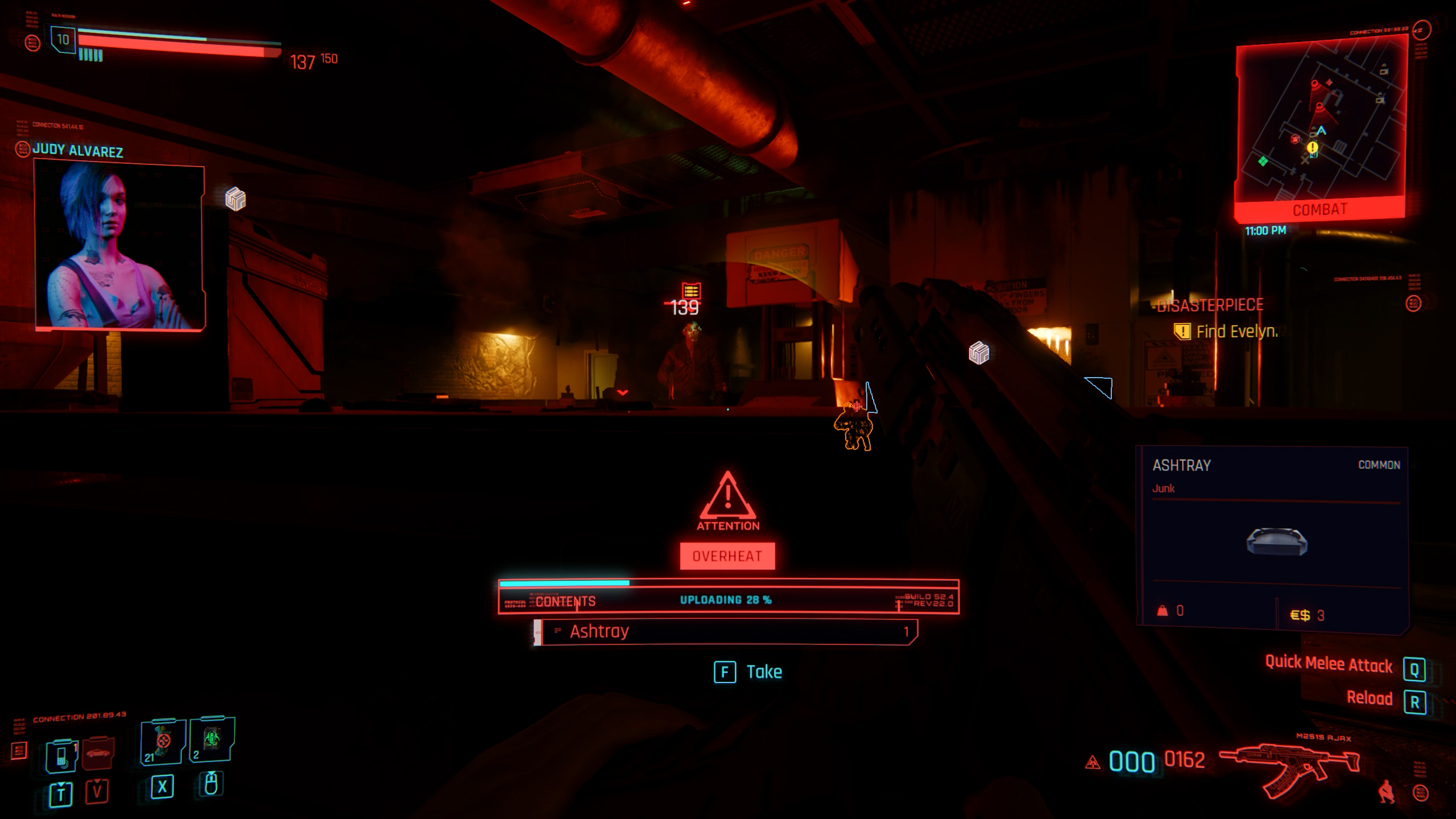 what does overheat mean in cyberpunk 2077?