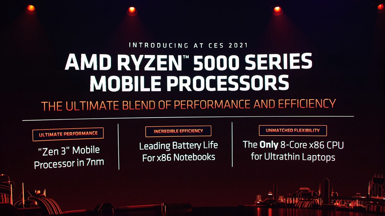 AMD's new Ryzen Mobile 5000 Series CPUs are set to bring more power and efficiency to laptops working on AMD technology.