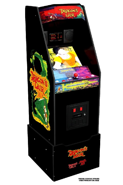 The Dragon's Lair and Space Ace cabinets from Arcade1Up will both feature the entirety of Don Bluth's classic animated arcade games.