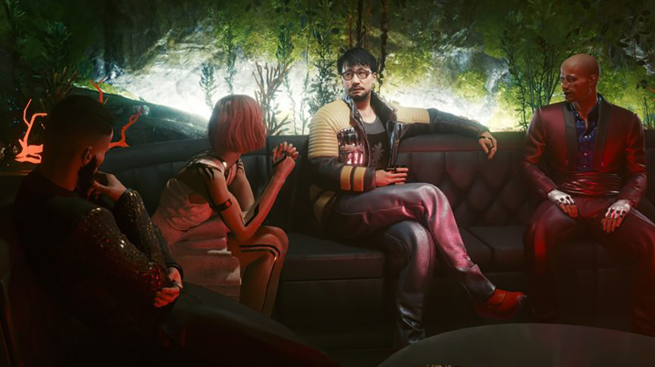 Where to find Hideo Kojima - Cyberpunk 2077