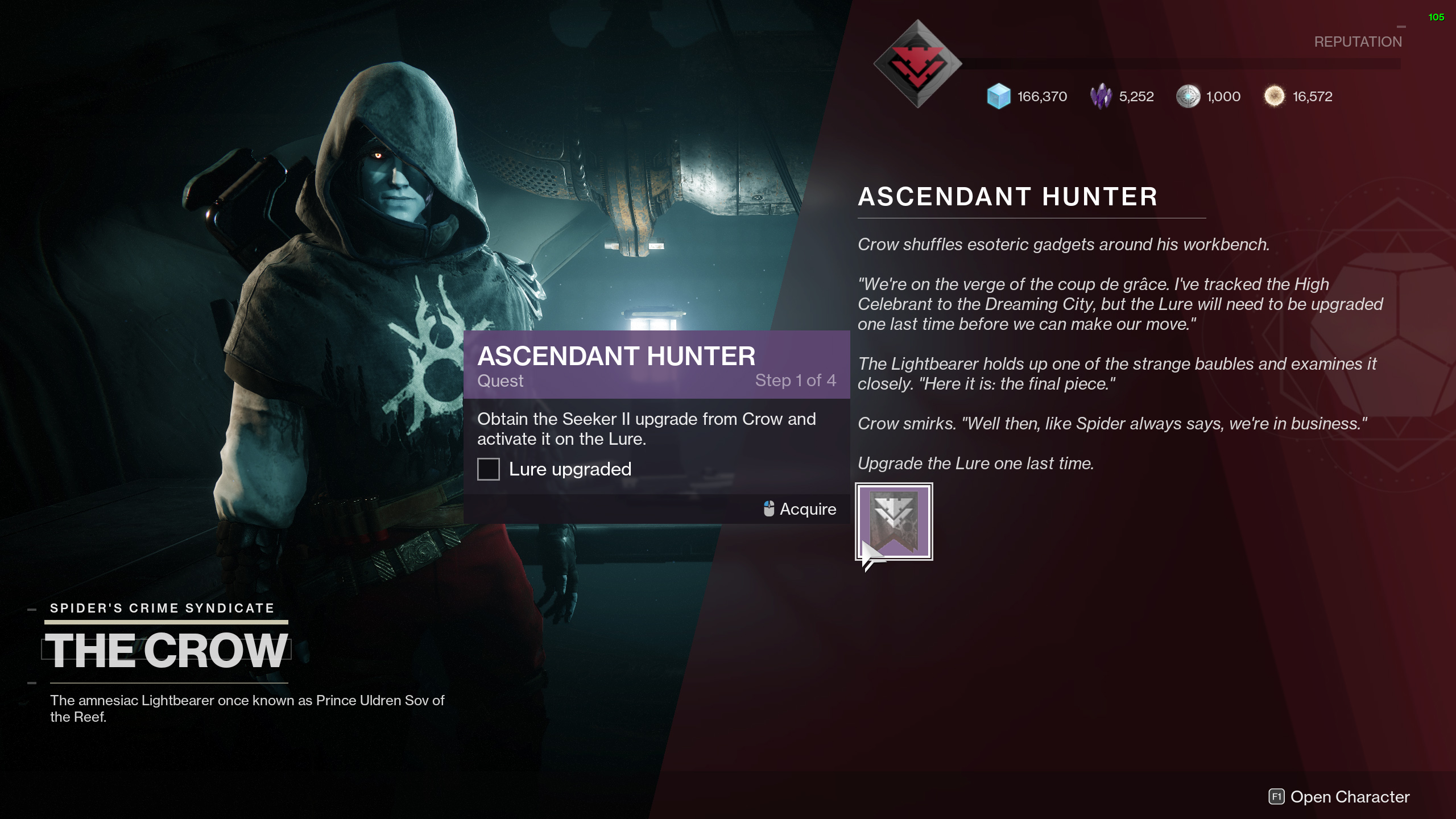 destiny 2 ascendant hunter