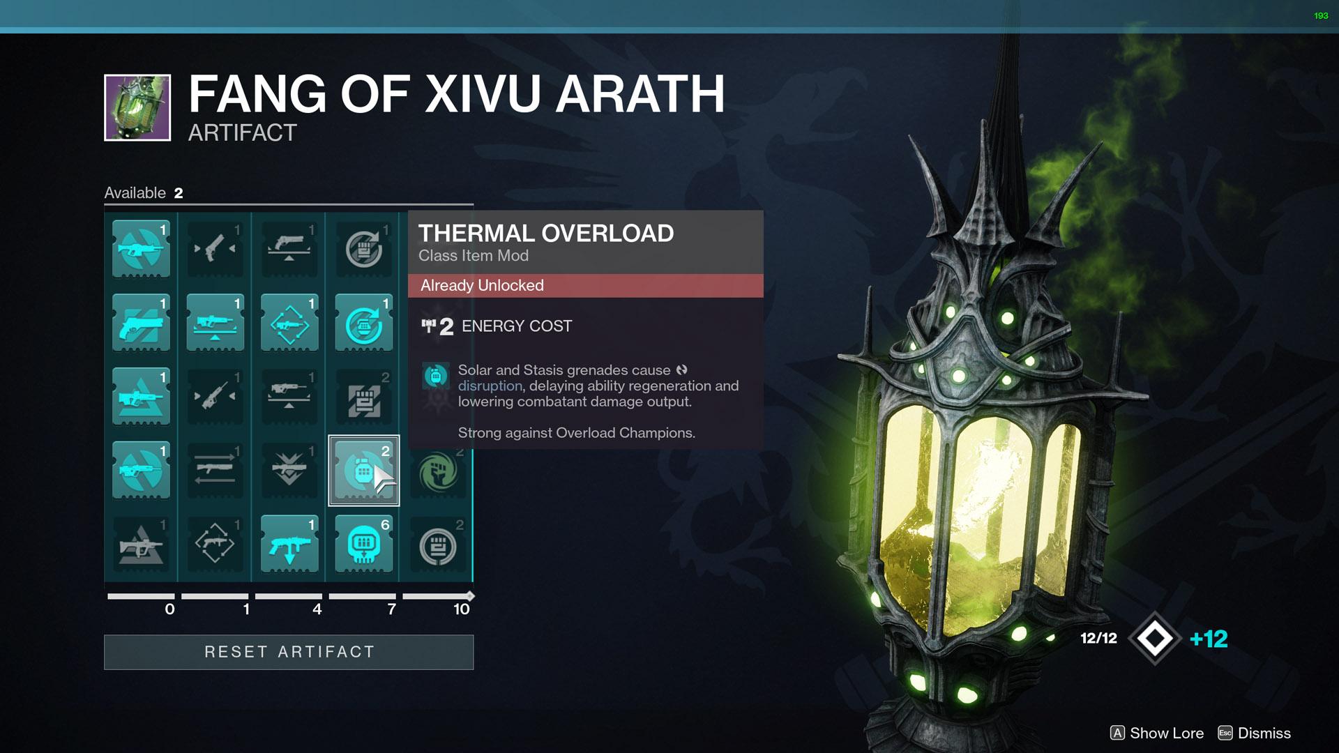 destiny 2 thermal overload