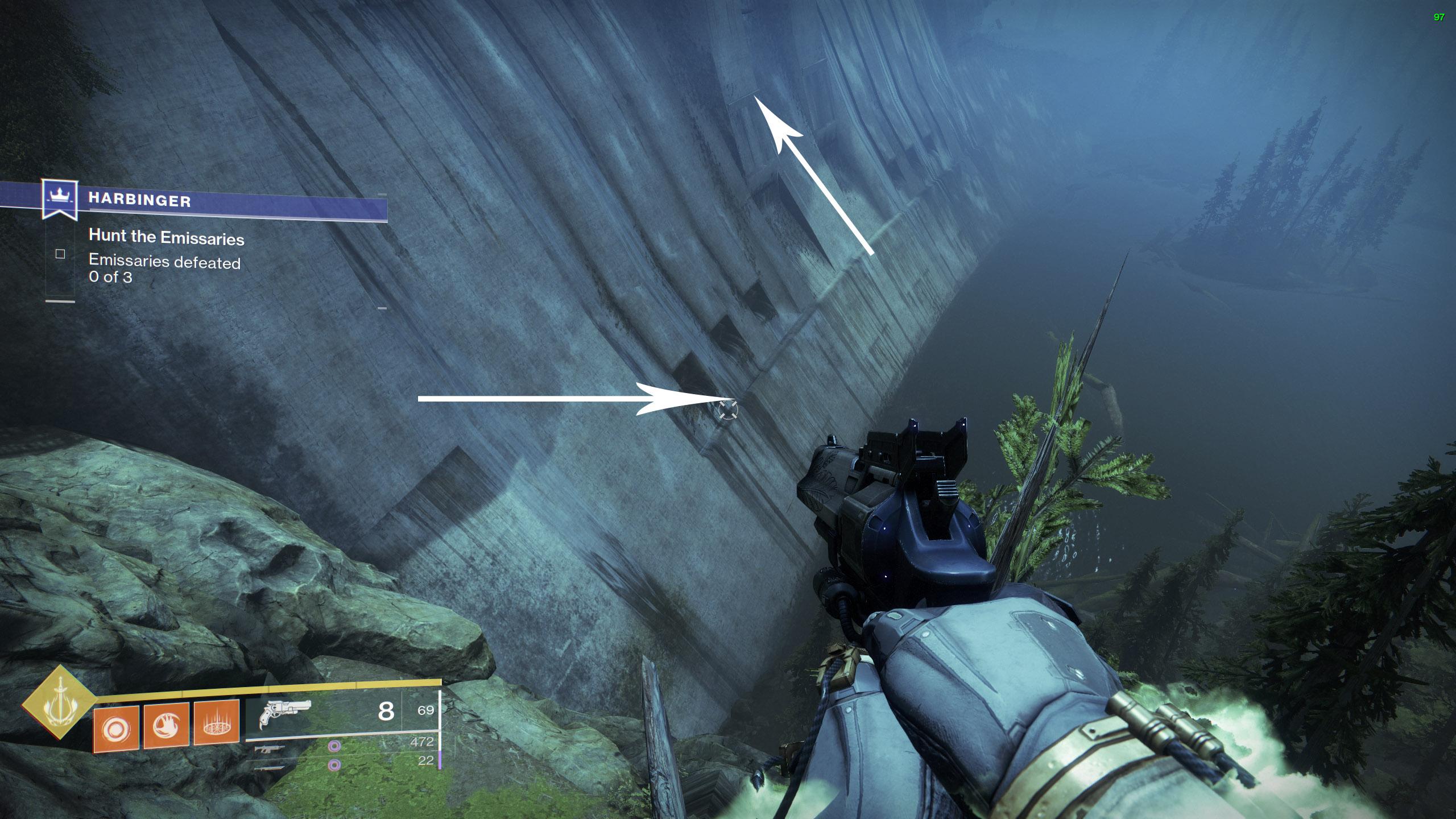 destiny 2 harbinger dam jumping puzzle