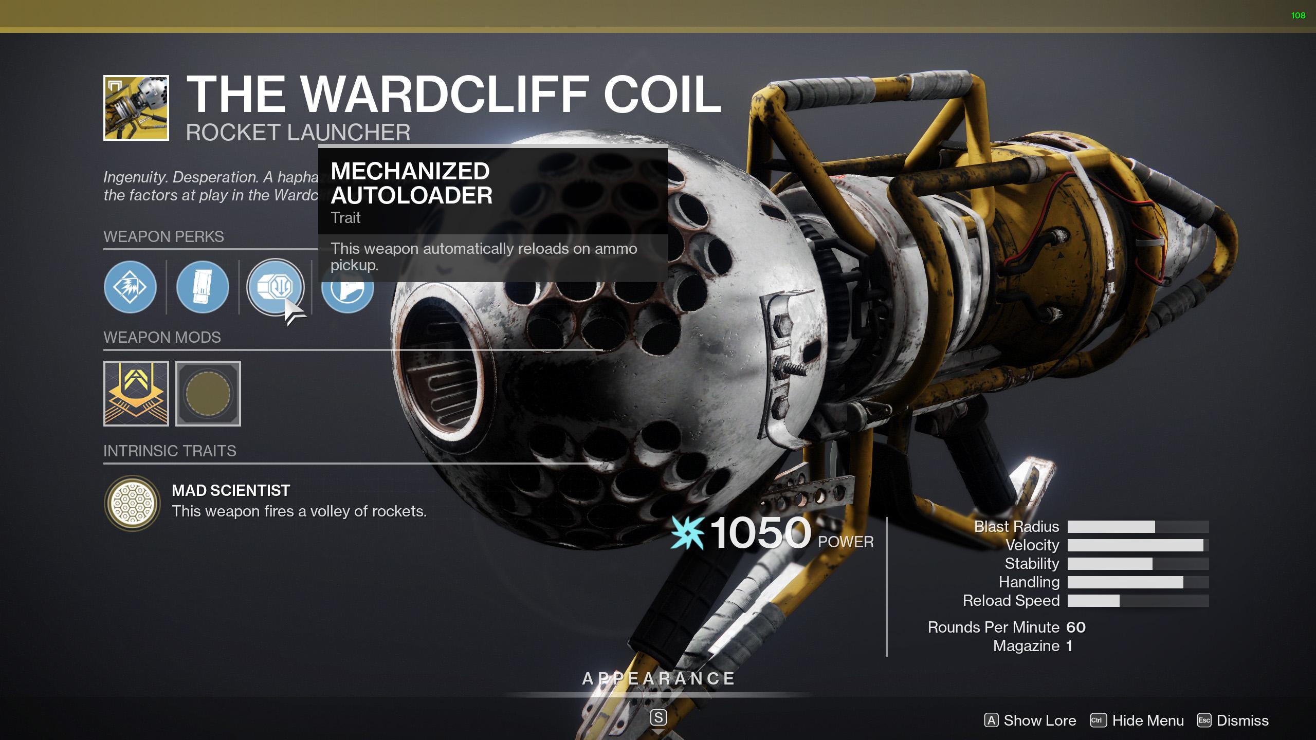 destiny 2 rocket launcher buffs TWAB