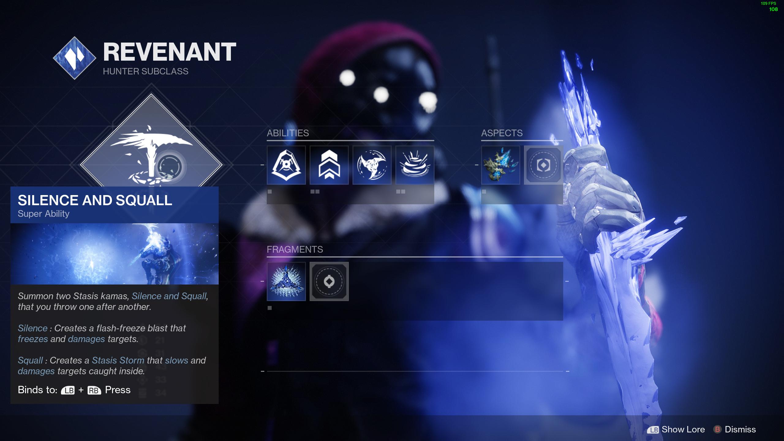destiny 2 hunter subclass revenant