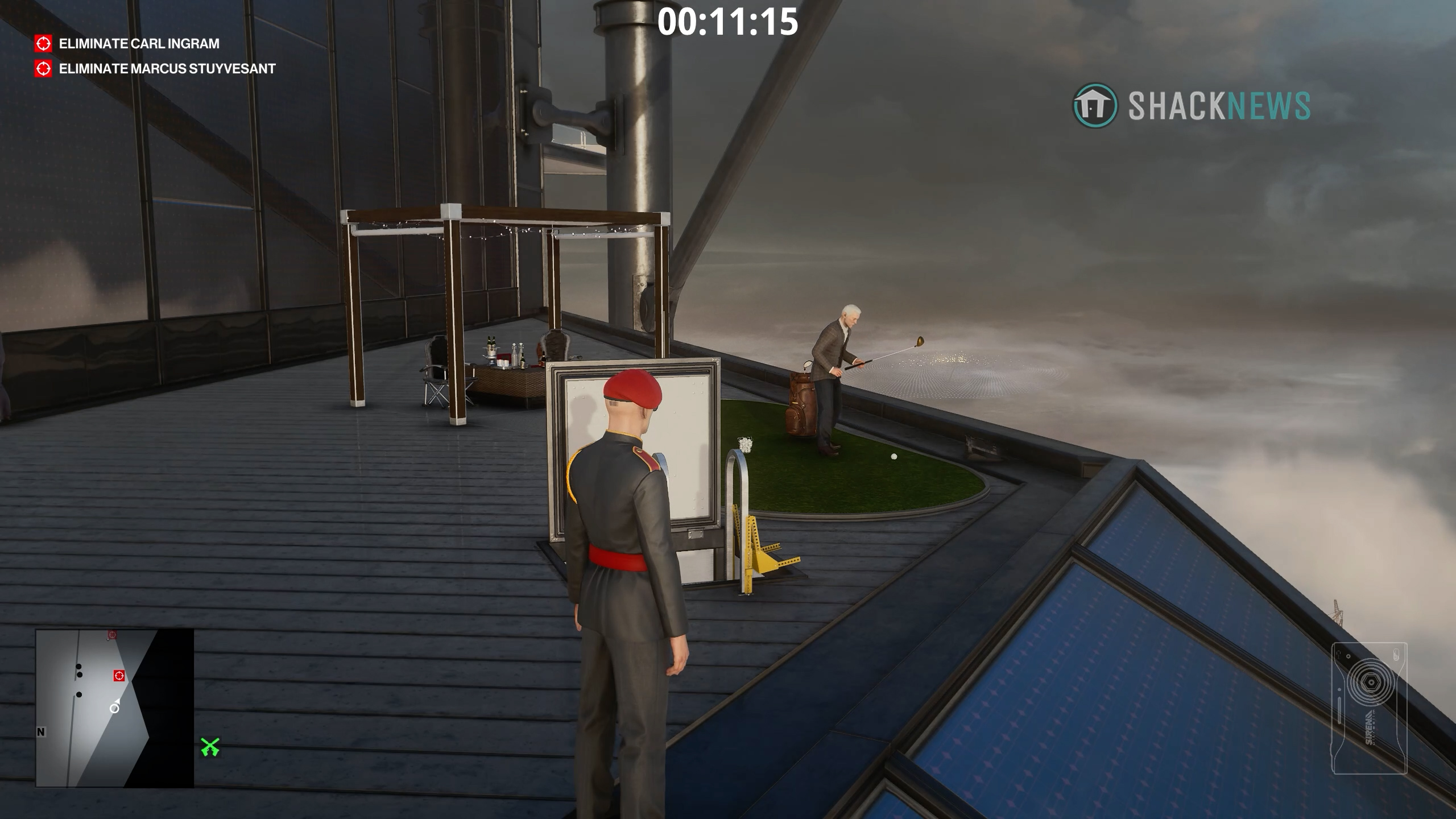 How to get Carl to play golf - hitman 3
