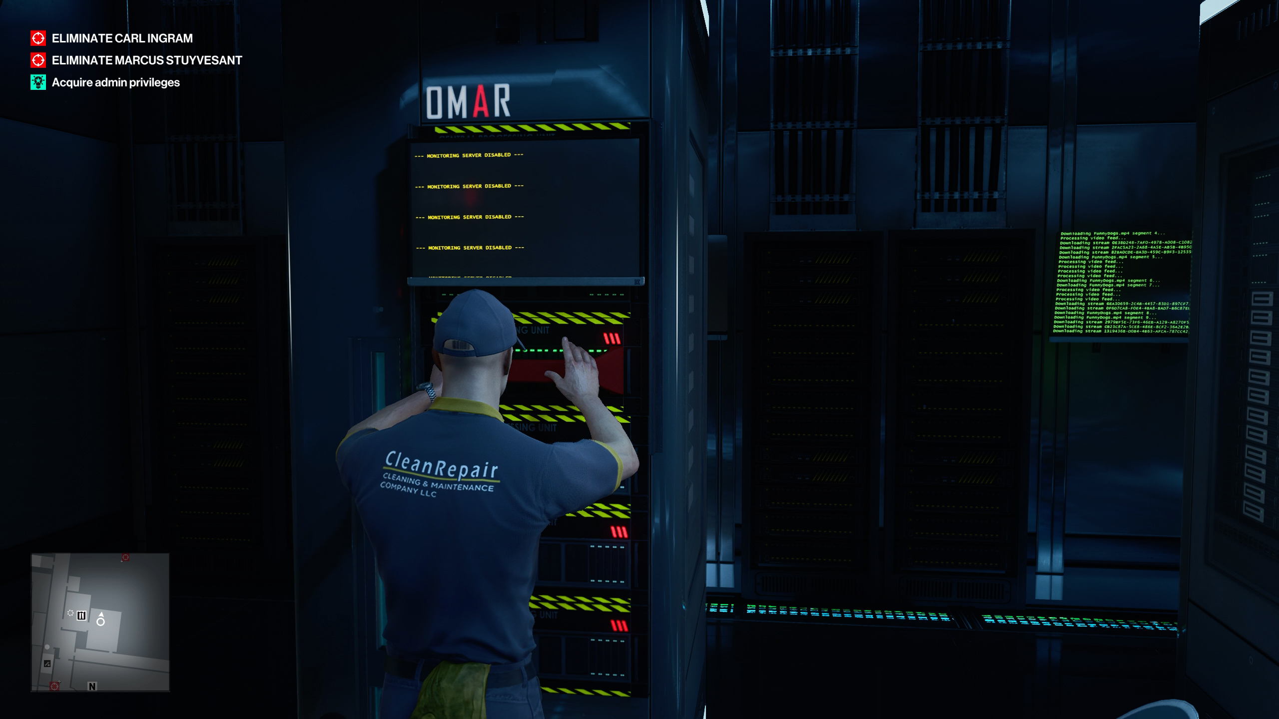 How to acquire administrator privileges - hitman 3
