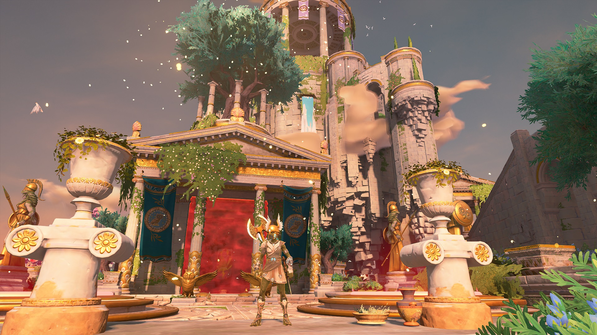 Immortals Fenyx Rising: A New God DLC impressions - The road to godliness    Shacknews