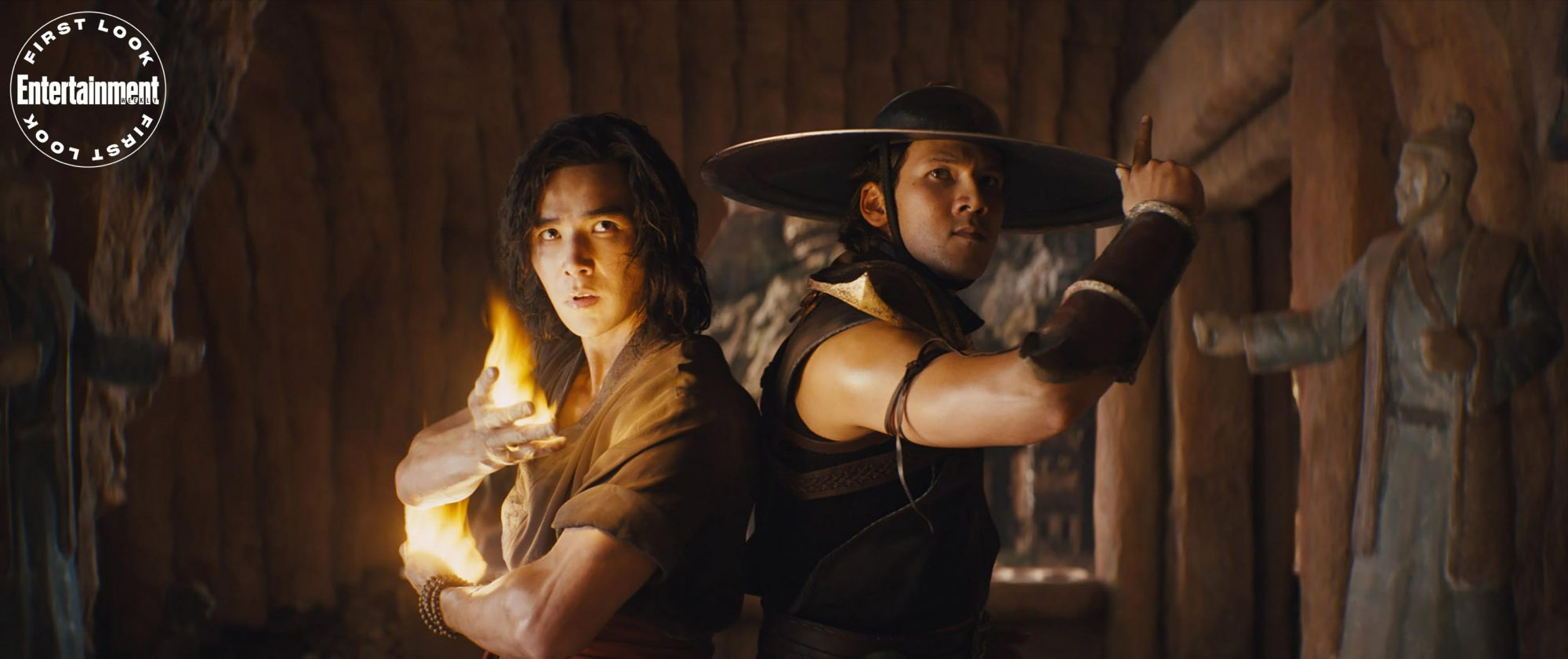 Liu Kang and Kung Lao, played by Ludi Lin and Max Huang respectively
