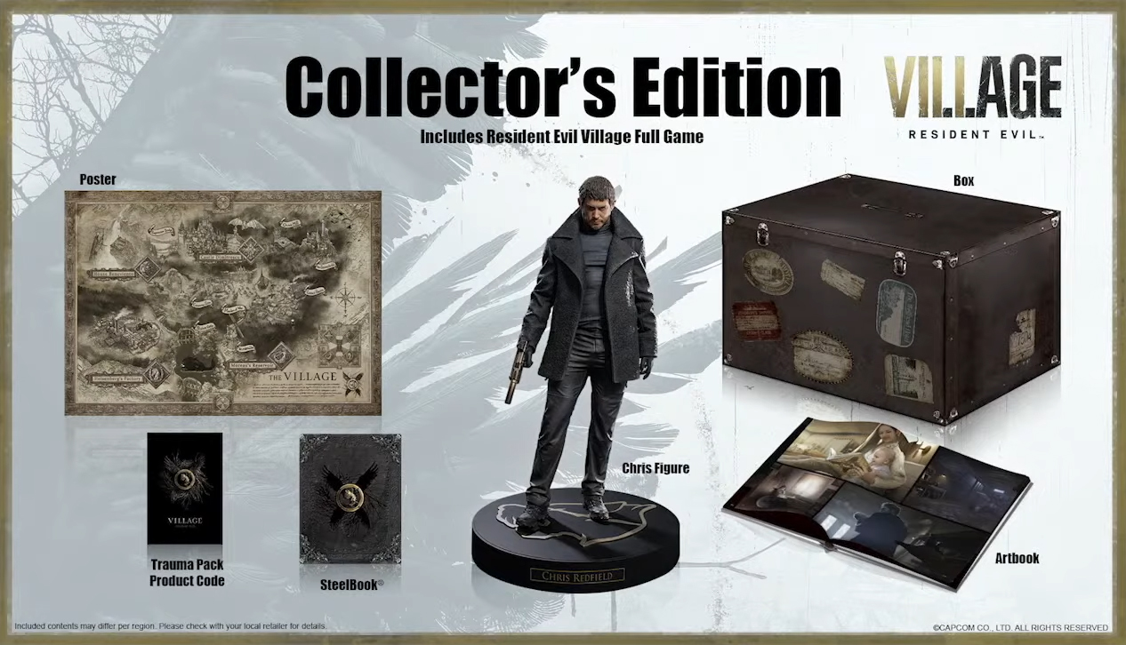 resident evil village collectors edition