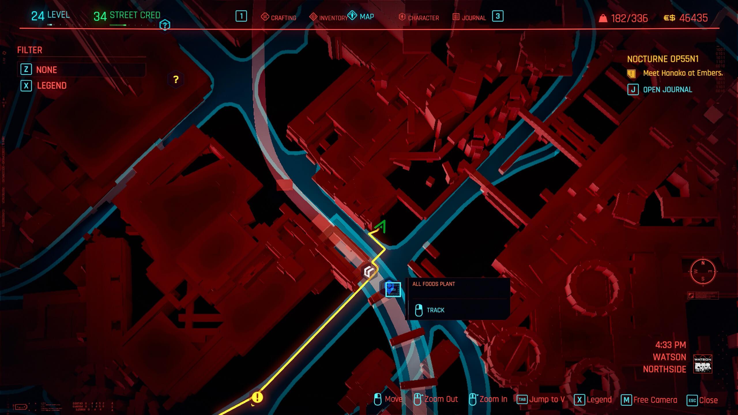 Tyger Claw bike location - The Highwayman - Cyberpunk 2077