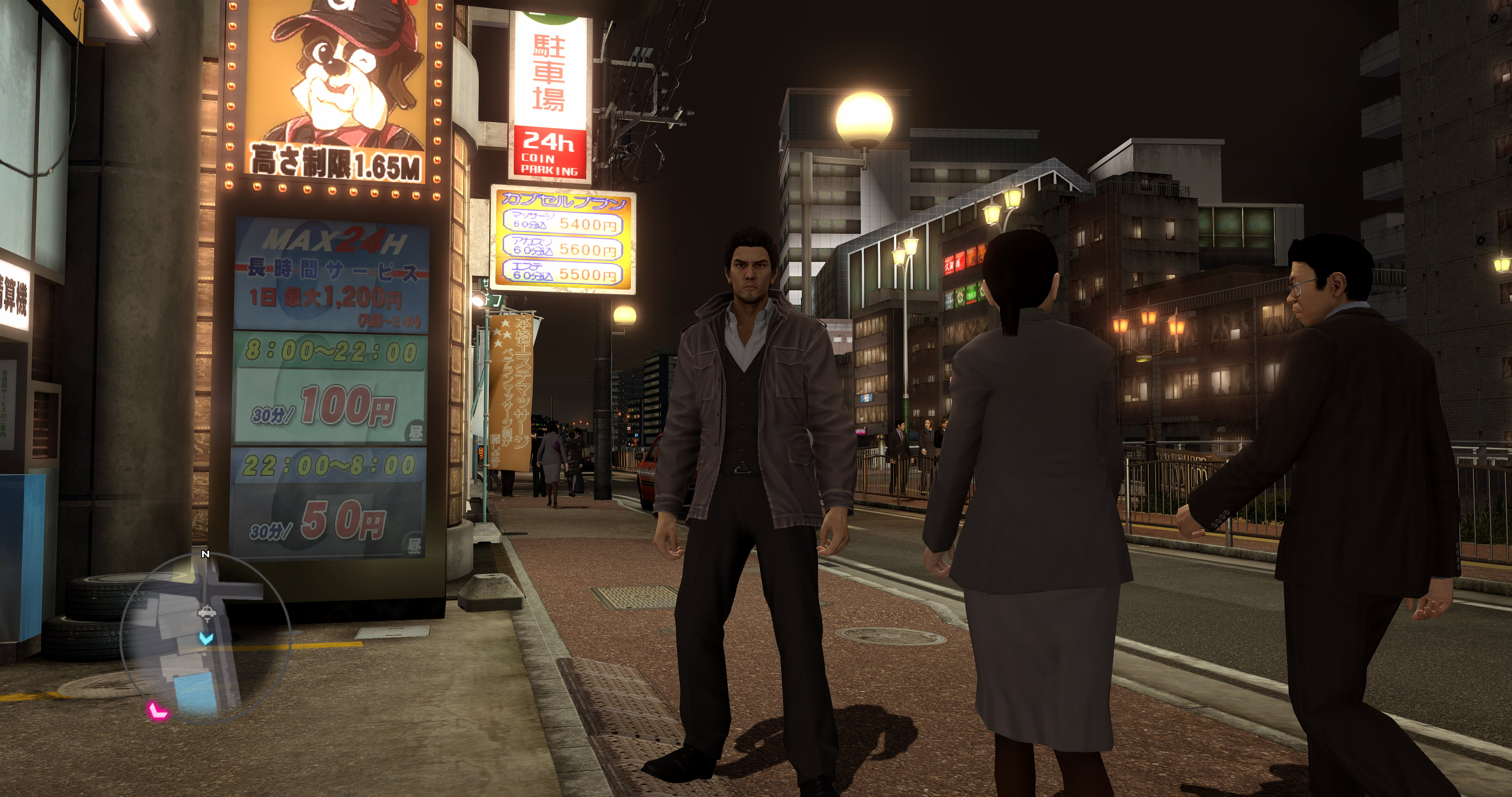The street views in Yakuza 5 do see some benefit from the increased resolution available in the PC port.