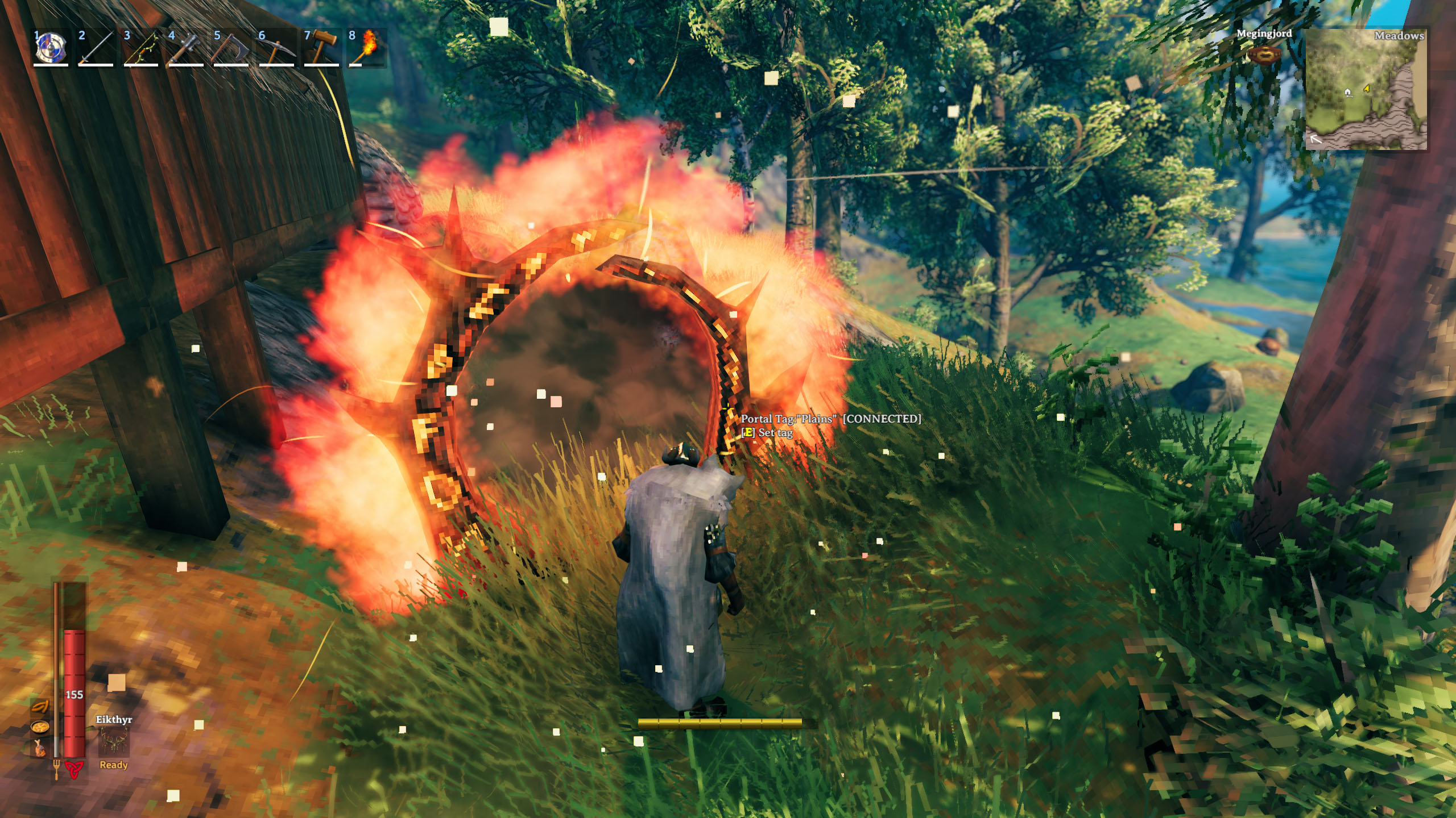 How to build a Portal and fast travel - Valheim