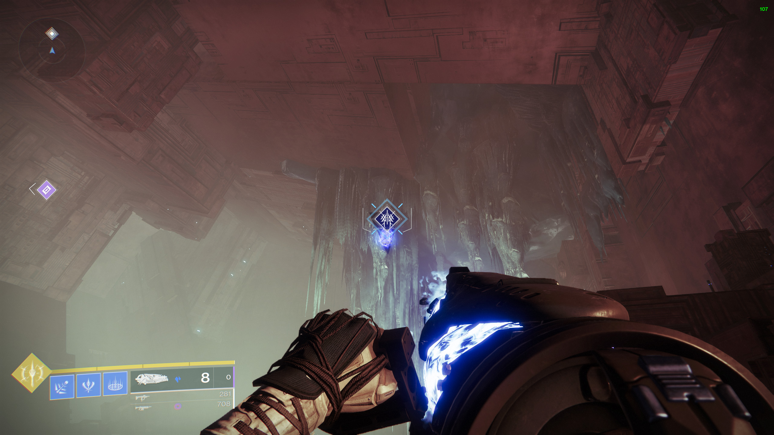 destiny 2 aspect of influence well of infinitude entropic shard
