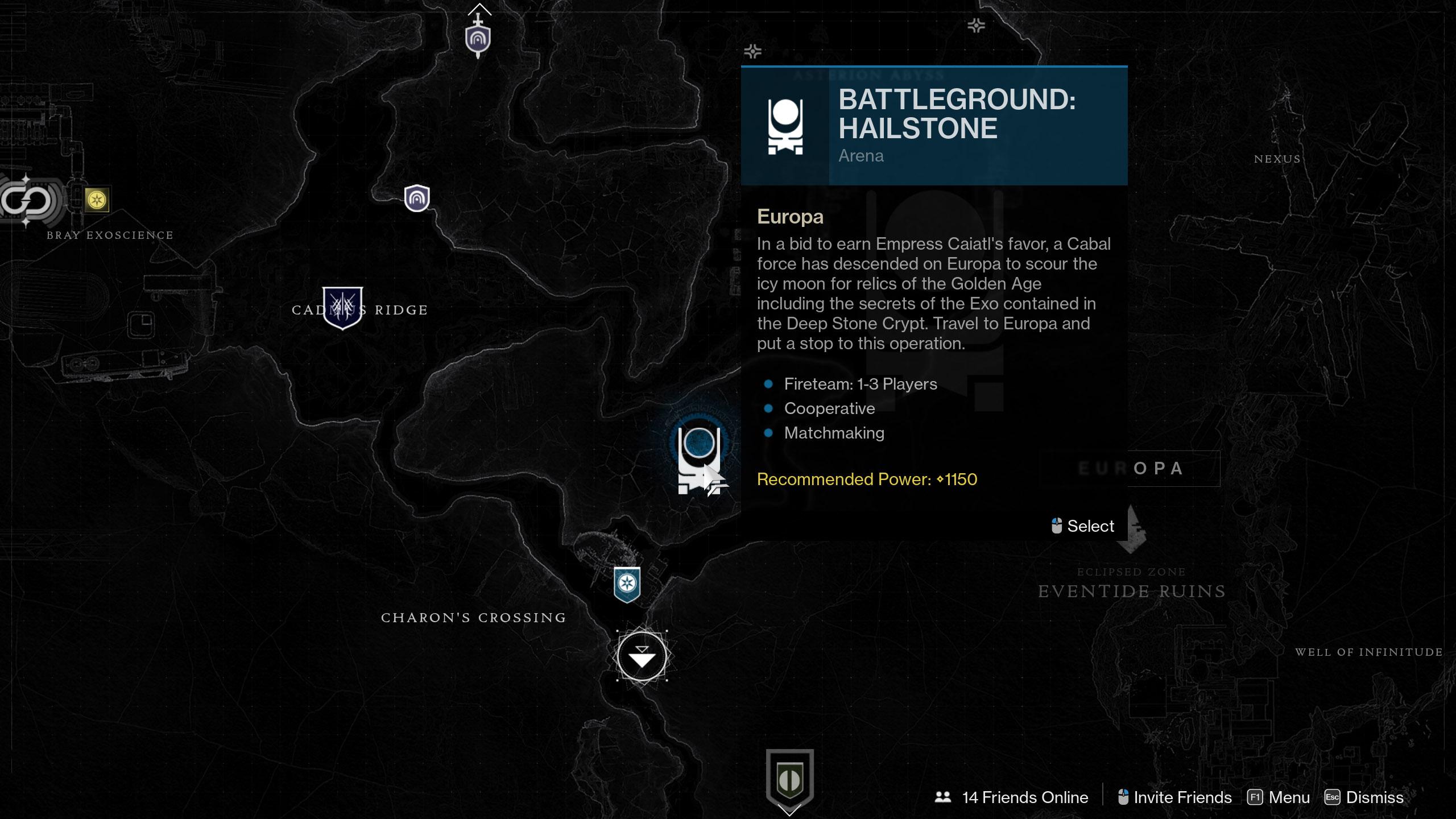 destiny 2 battlegrounds destination