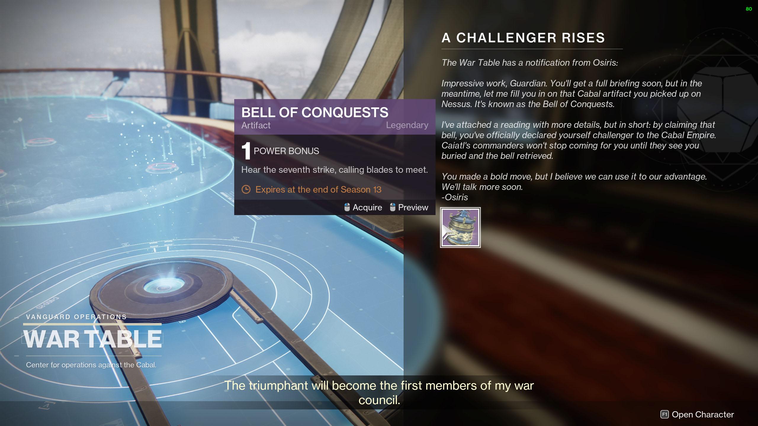 destiny 2 season of the chosen a challenger arises