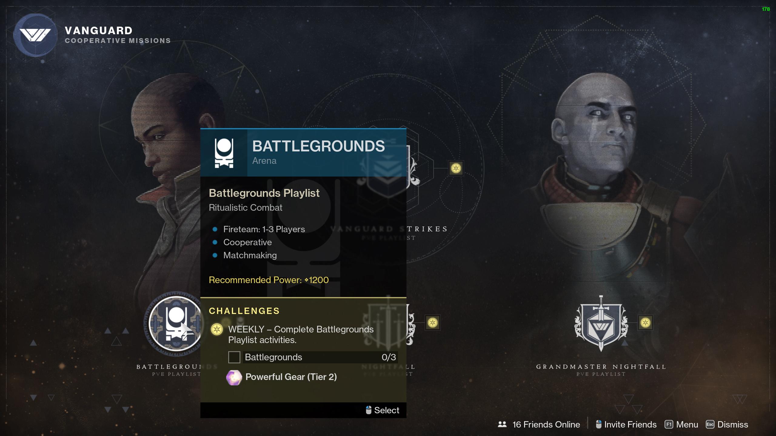 destiny 2 season of the chosen battleground playlist
