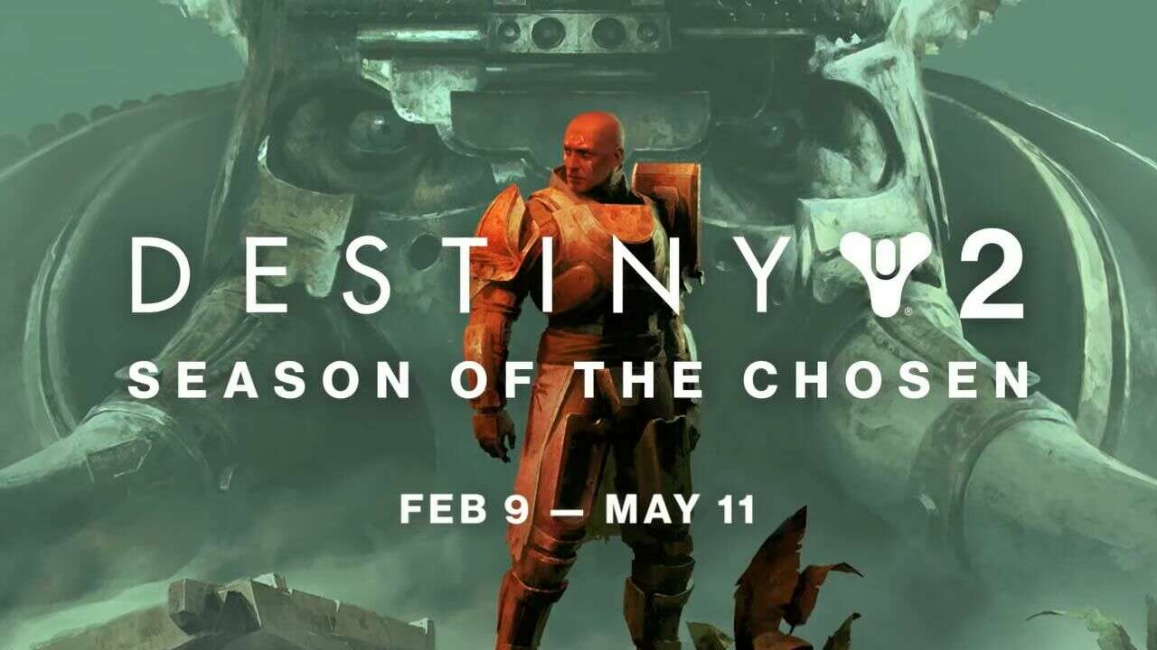 destiny 2: season of the chosen start time
