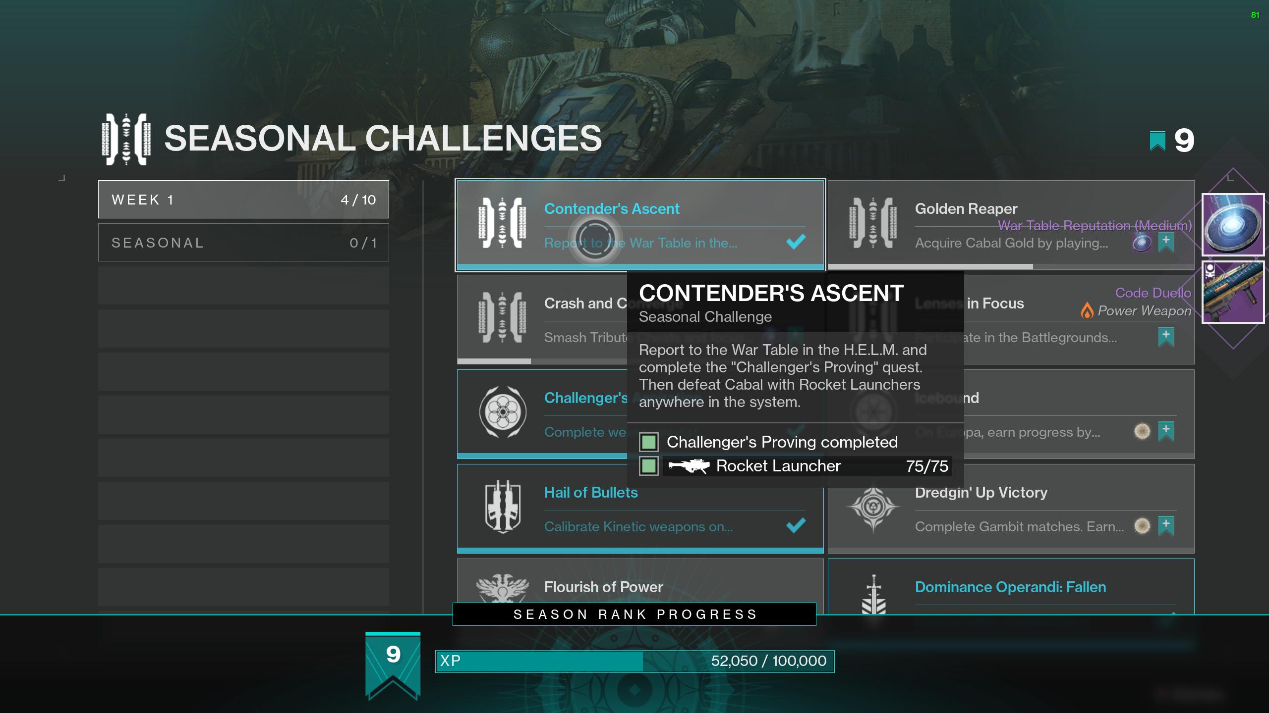 destiny 2 war table reputation