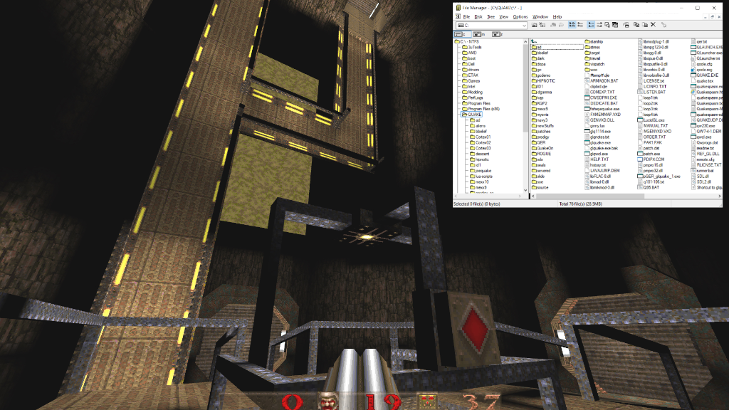 Take a look at Enkidu's 20 year old C:\Quake folder with this detailed retrospective.