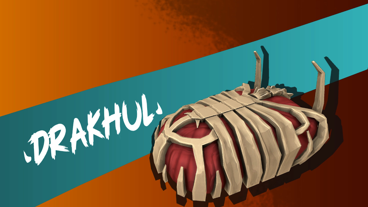 The demo features Drakhul, a ruthless skeletal boss bent on absorbing your power.